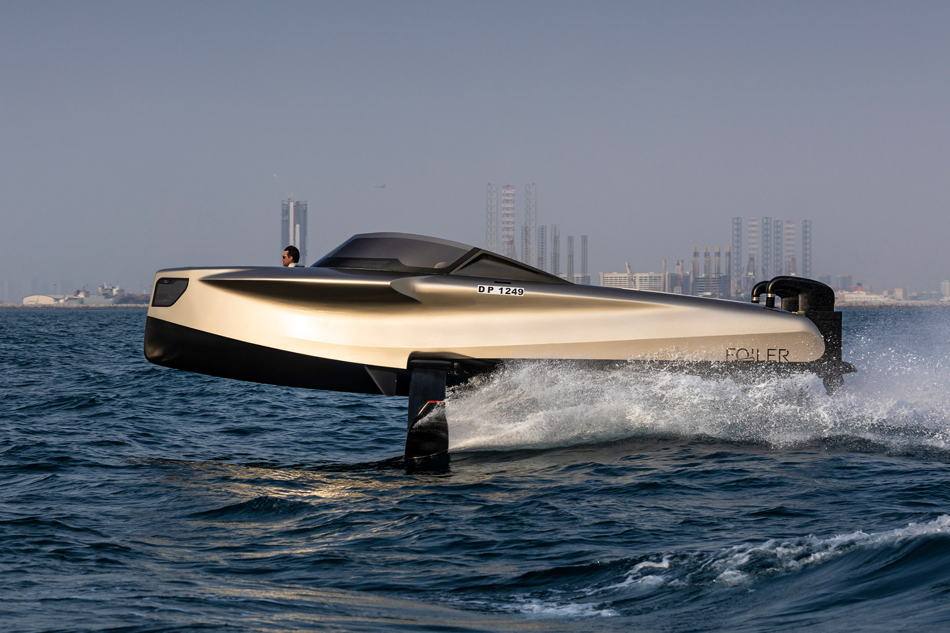 Enata Foiler Flying Yacht