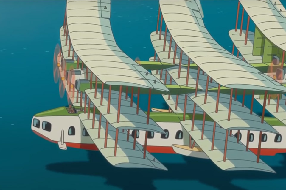 Hayao Miyazaki's Airships
