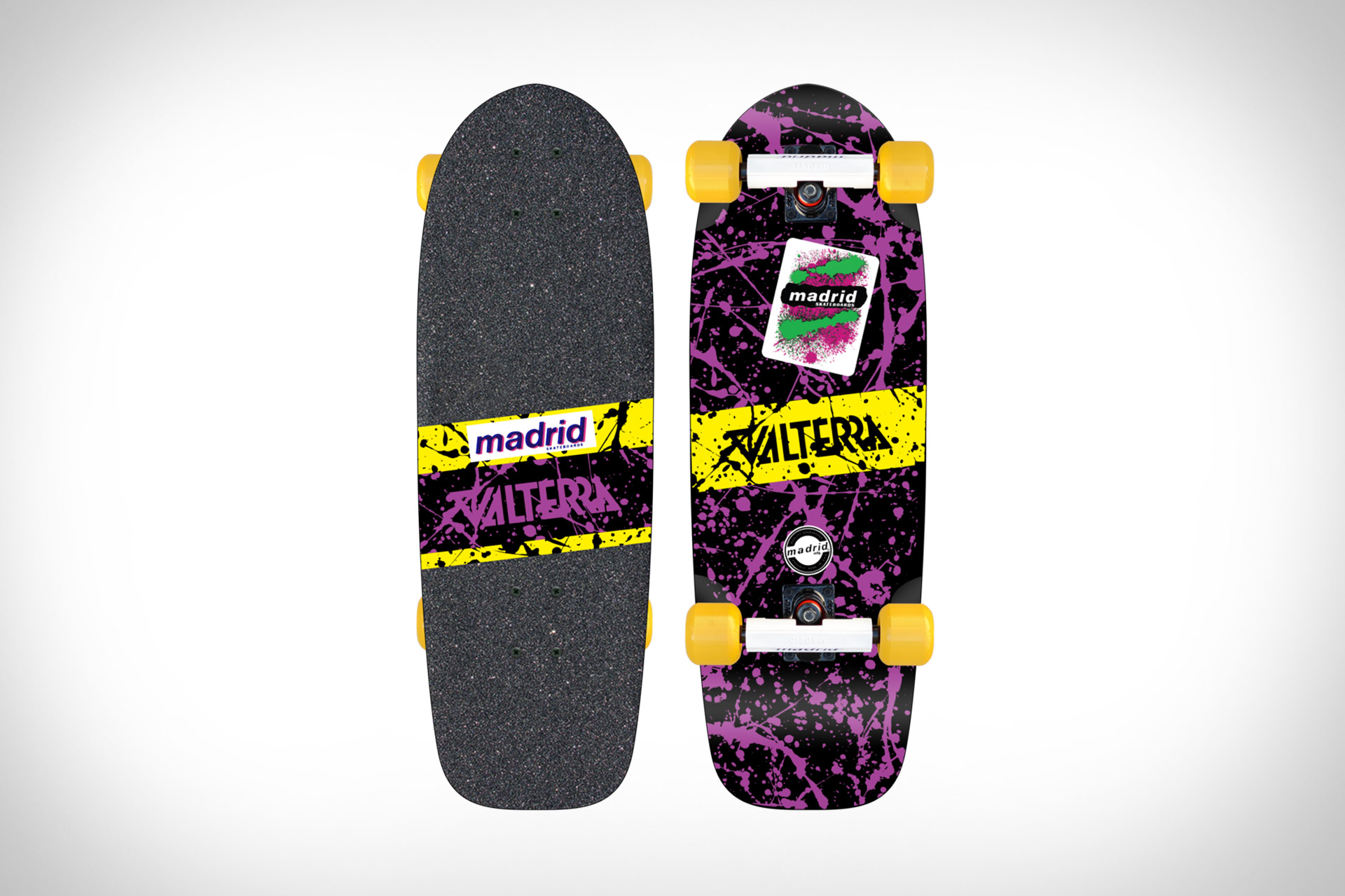 Madrid x Back to the Future Valterra Skateboard