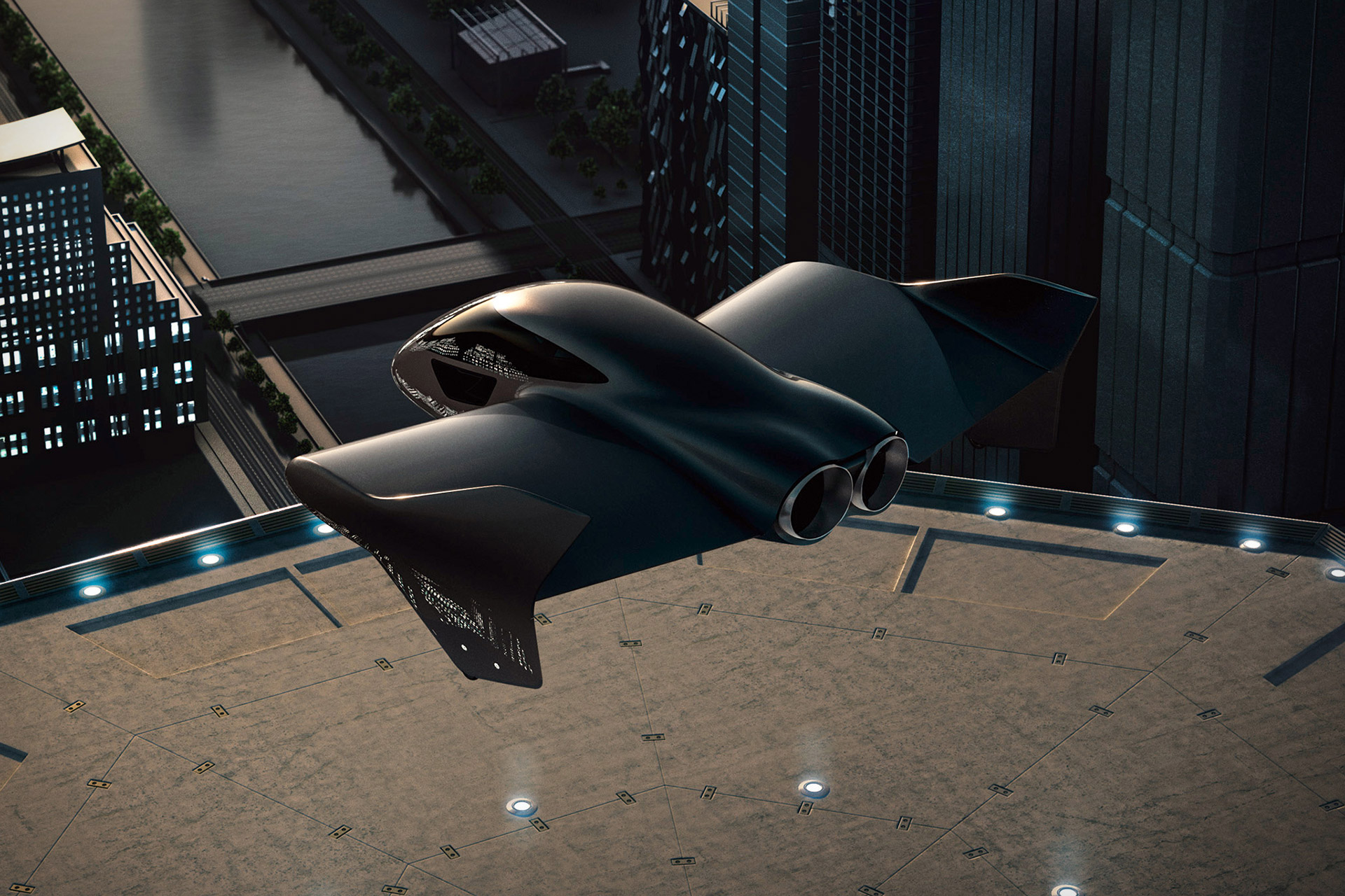 Porsche x Boeing Air Mobility Vehicle