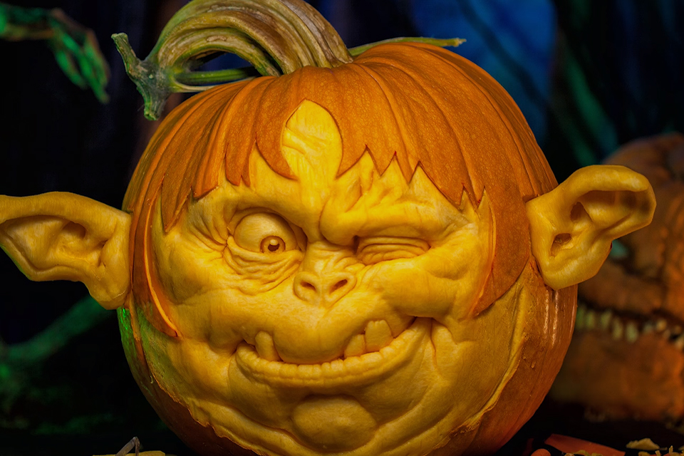 The Pumpkin Carving Master