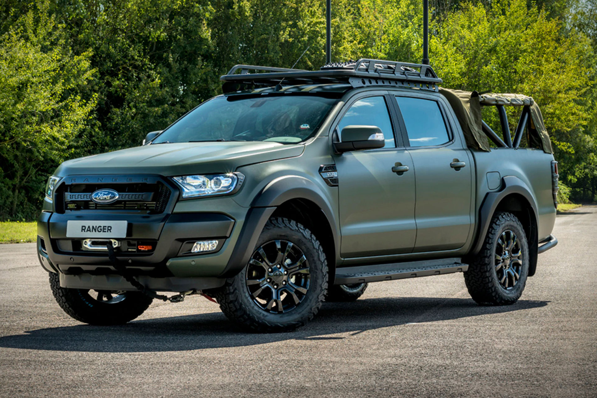 Ricardo Militarized Ford Ranger Truck