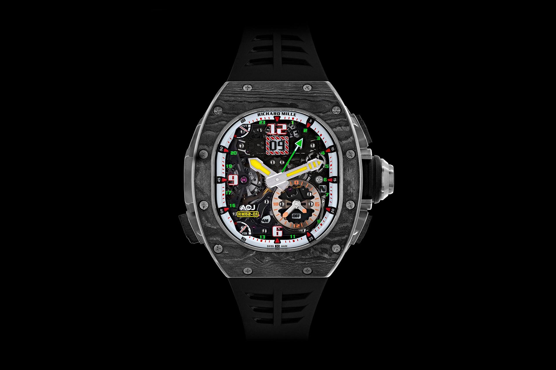 Richard Mille 62-01 ACJ Watch
