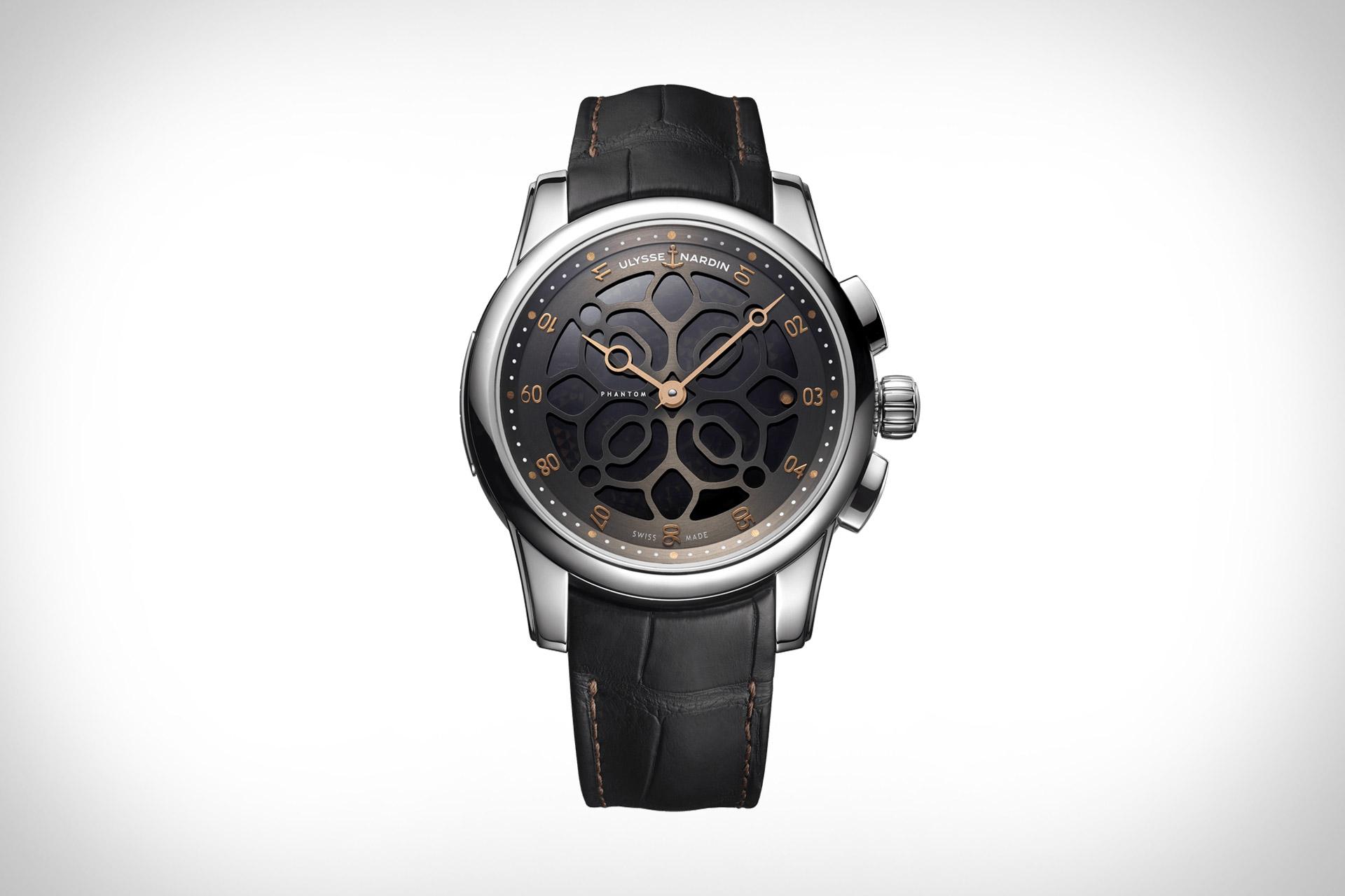 Ulysse Nardin x Devialet Hourstriker Phantom Watch