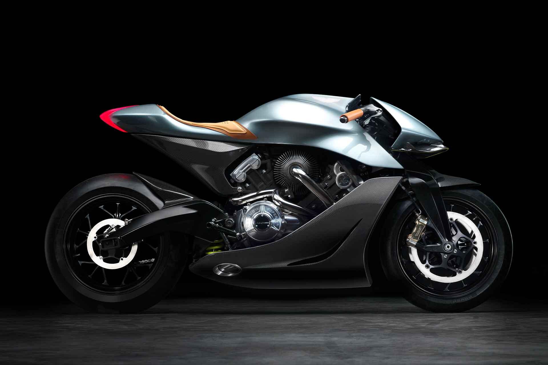 Aston Martin x Brough AMB 001 Motorcycle