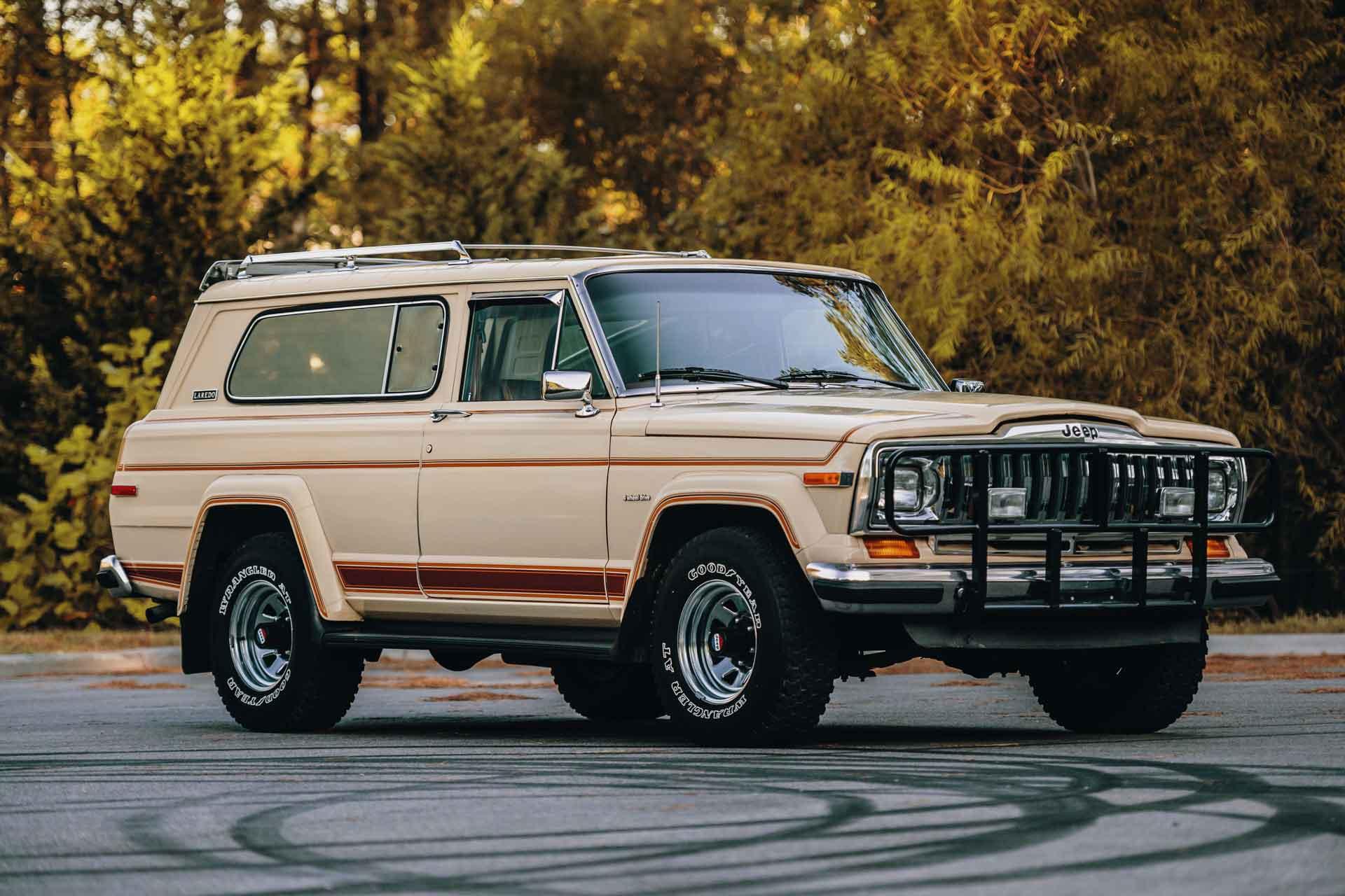 1983 Jeep Cherokee Laredo SUV