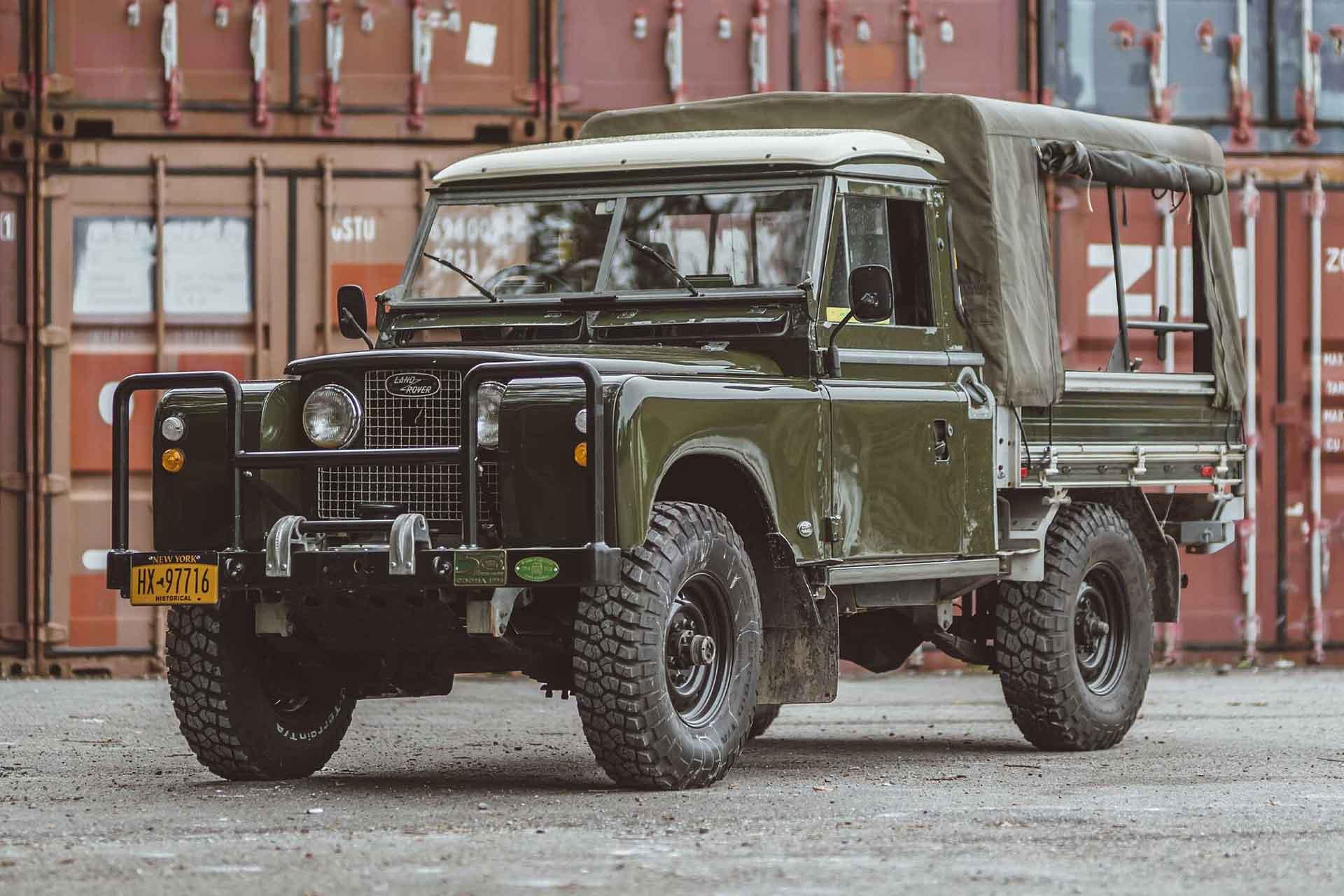 1958 Land Rover Series II Truck