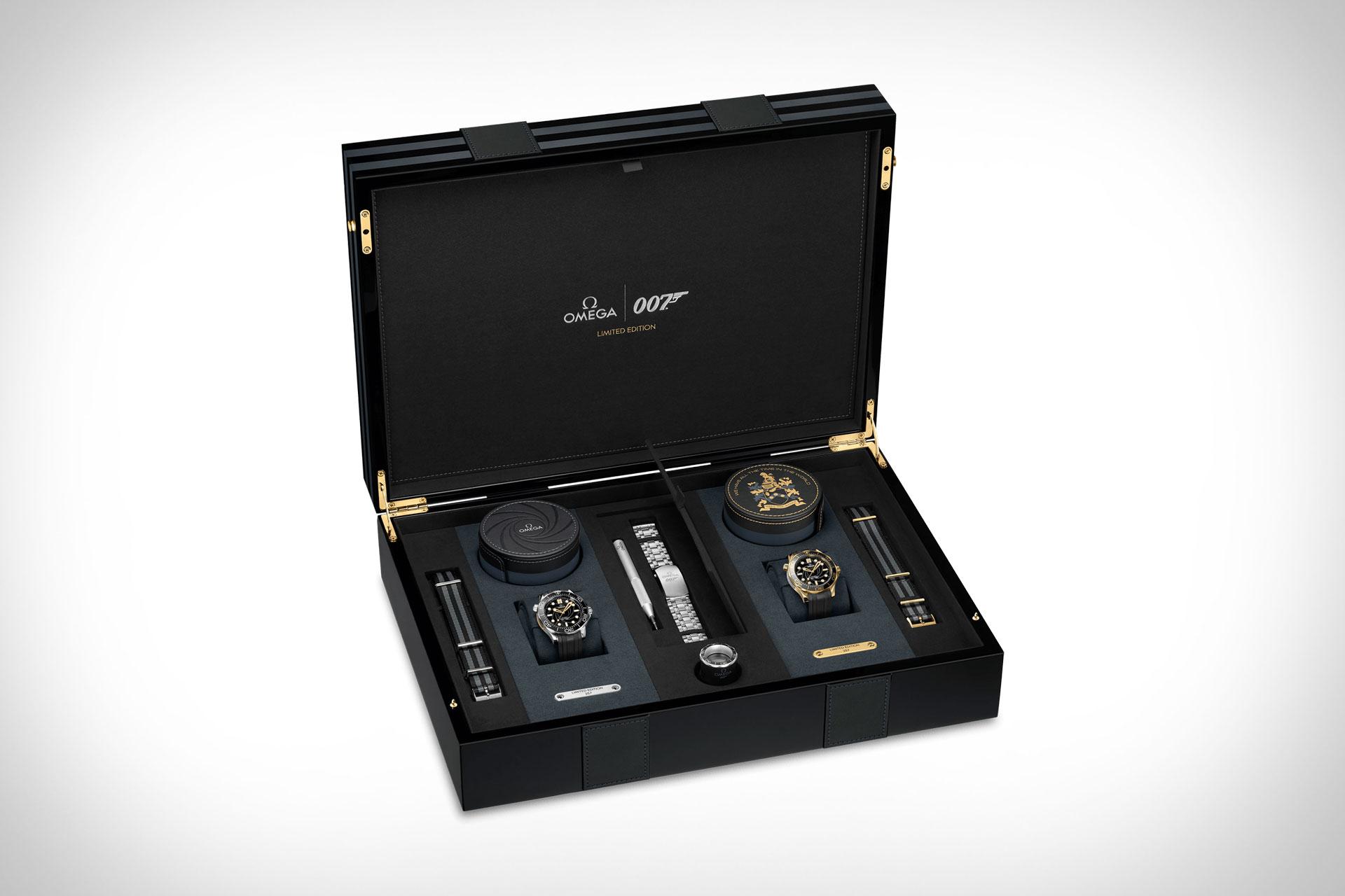 Omega Seamaster James Bond Limited Edition Set