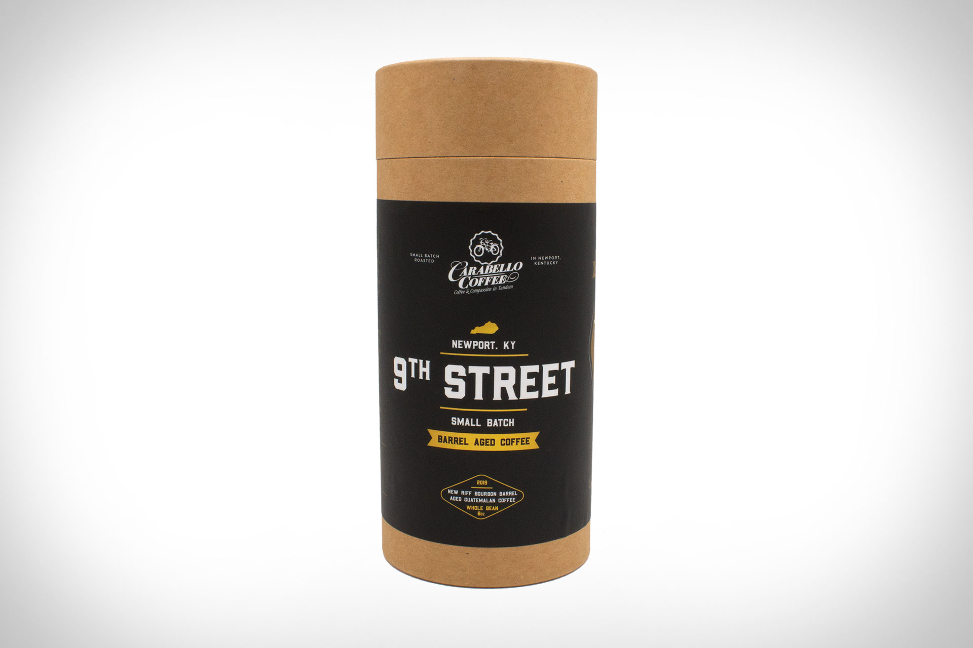 Carabello 9th Street Bourbon Barrel Aged Coffee