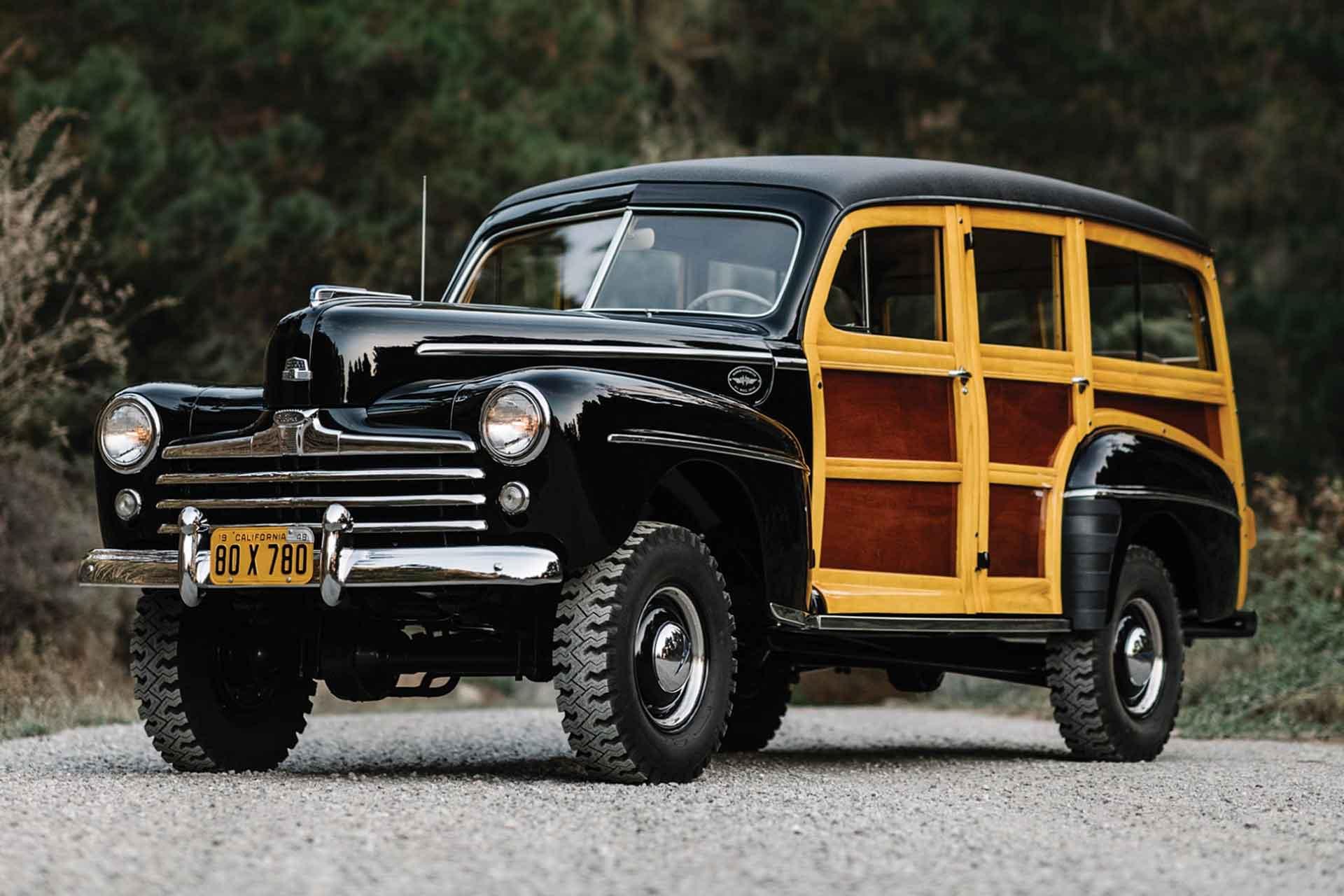 1948 Ford Super Deluxe SUV
