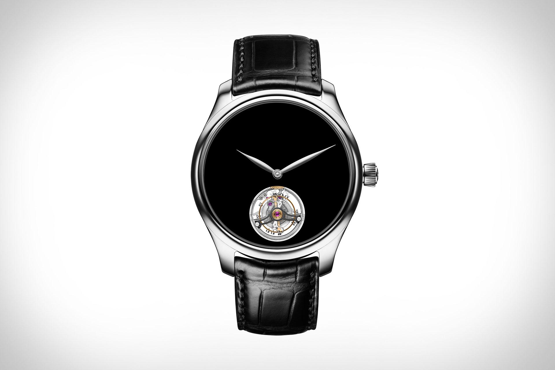 H. Moser & Cie. Endeavour Tourbillon Vantablack Watch
