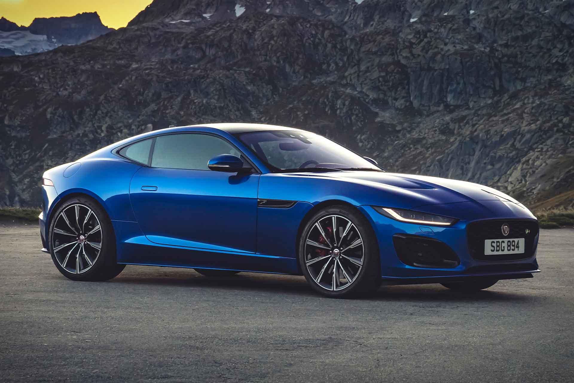 2021 jaguar ftype coupe  uncrate
