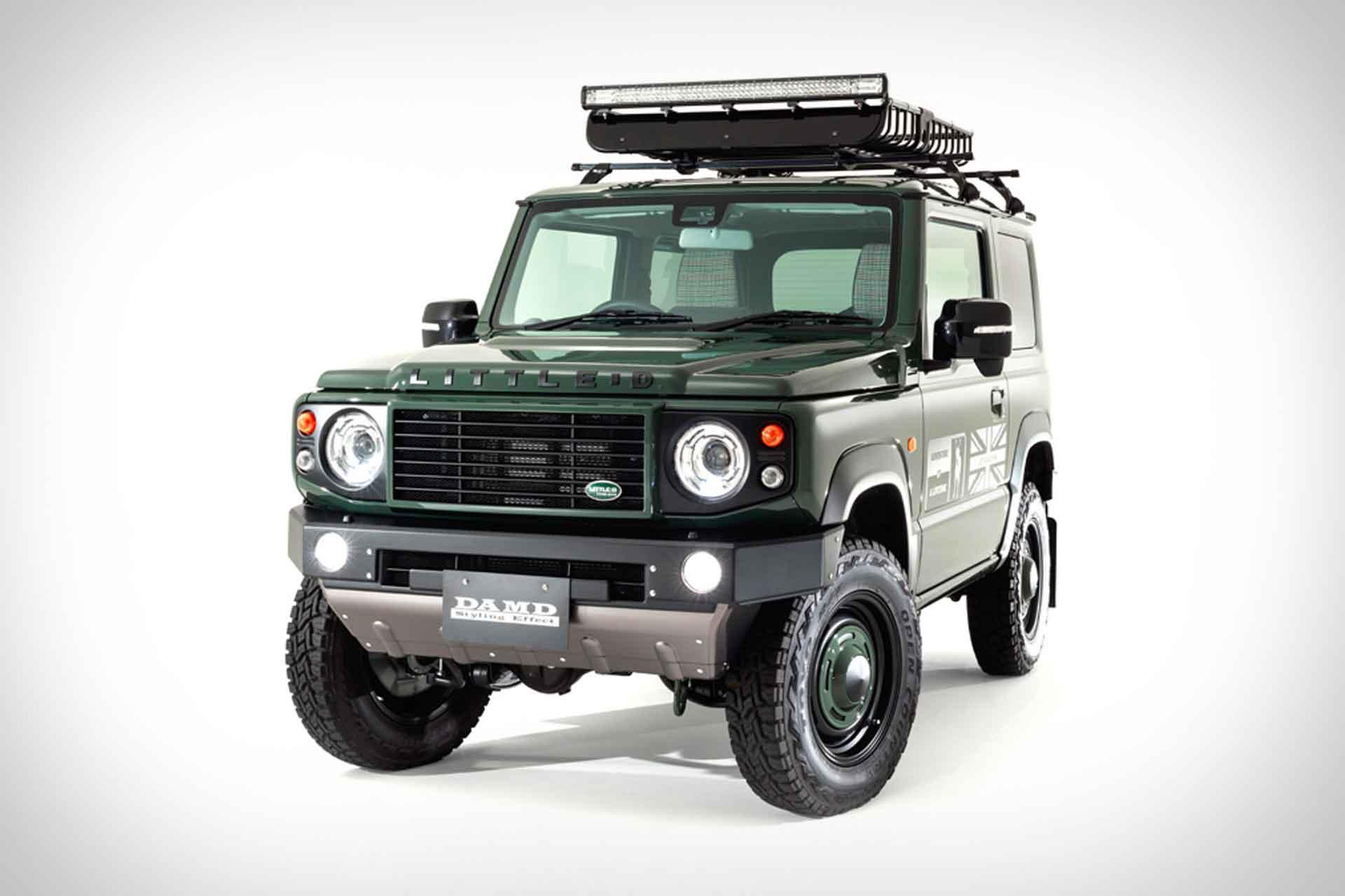 DAMD Suzuki Jimny Defender Body Kit