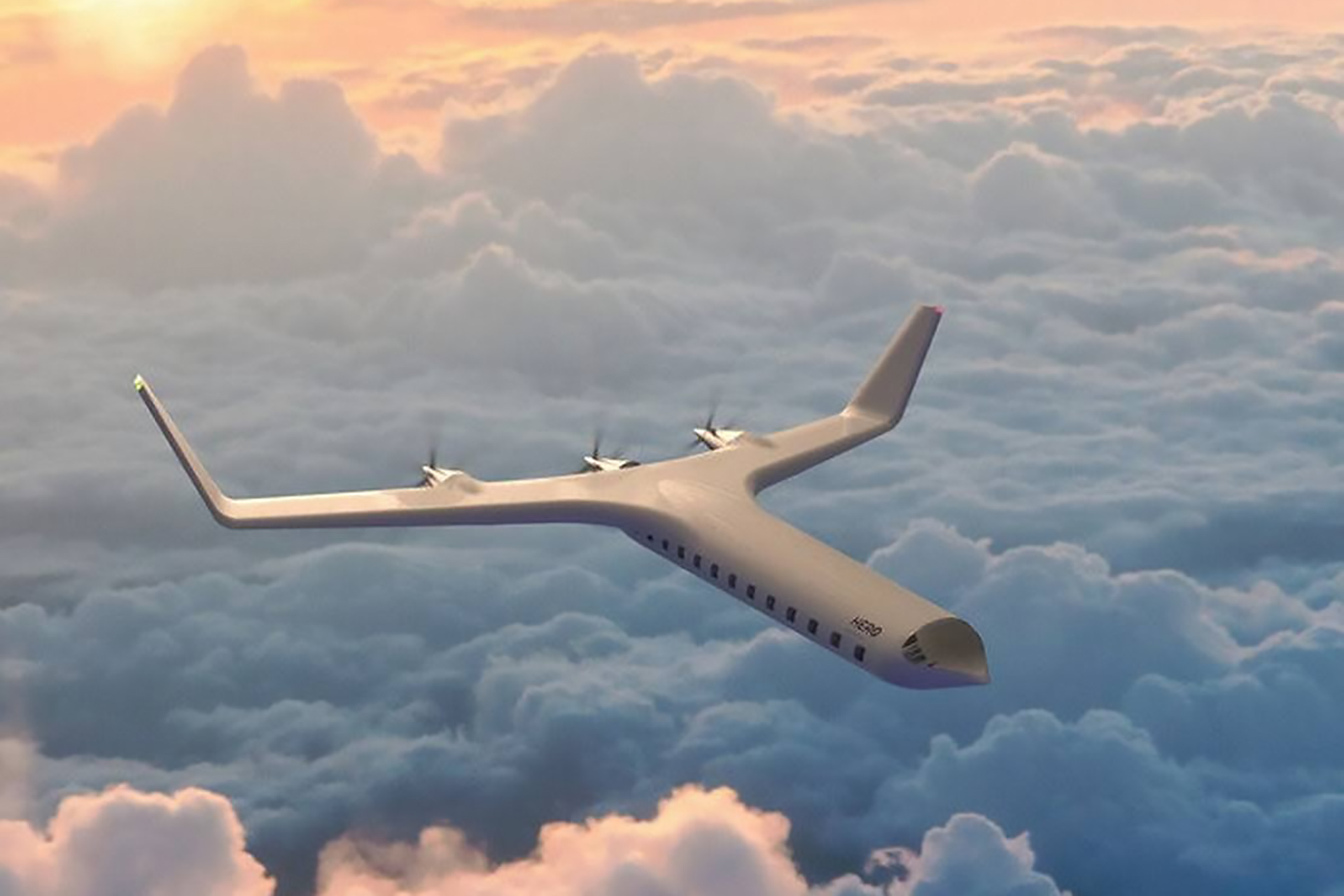 Hero Zero Emission Passenger Plane