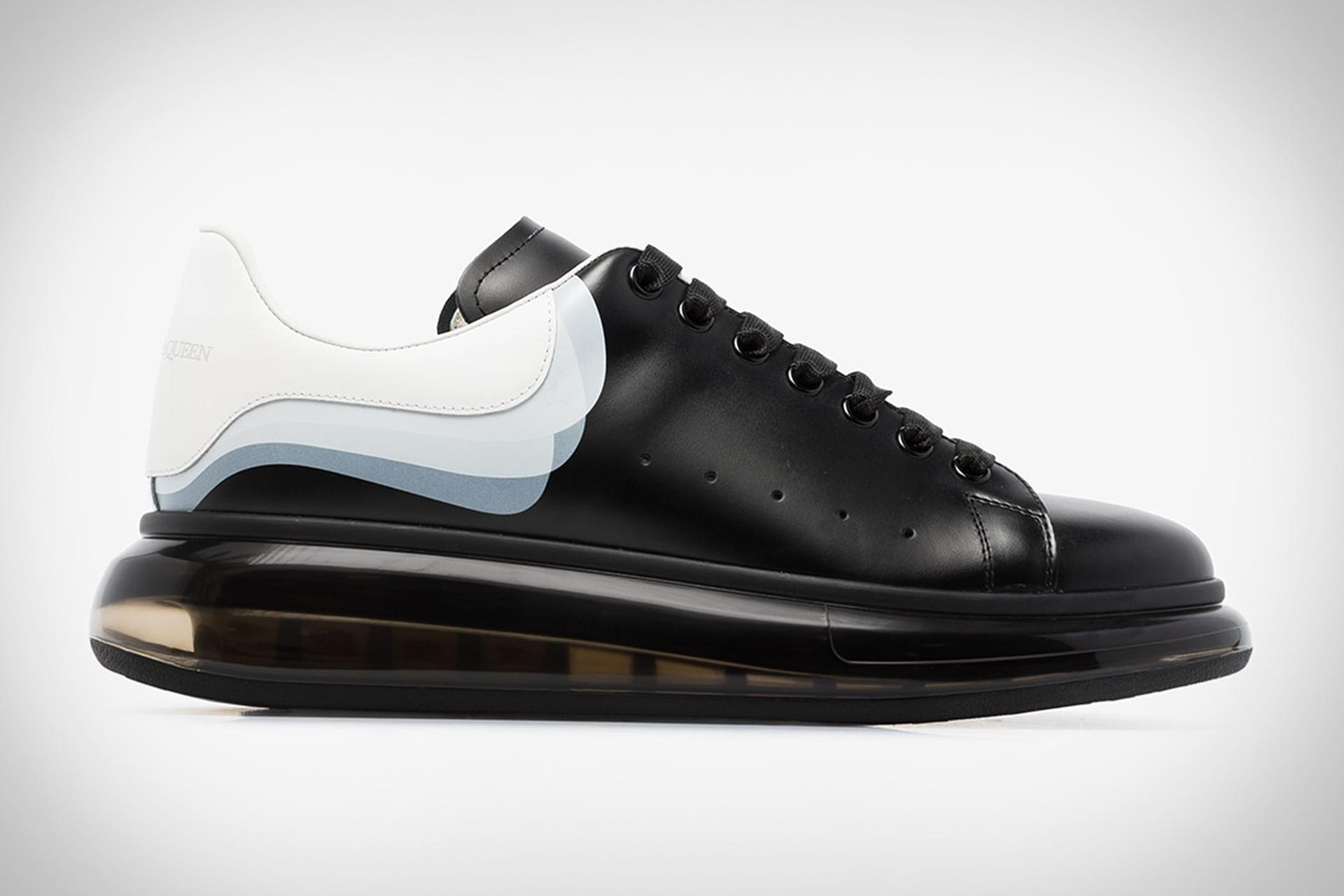 Alexander McQueen 3D Print Oversized Sneaker