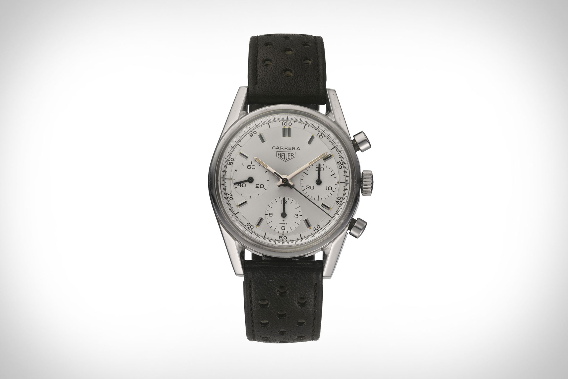 Tag Heuer Carrera 160 Years Silver Watch