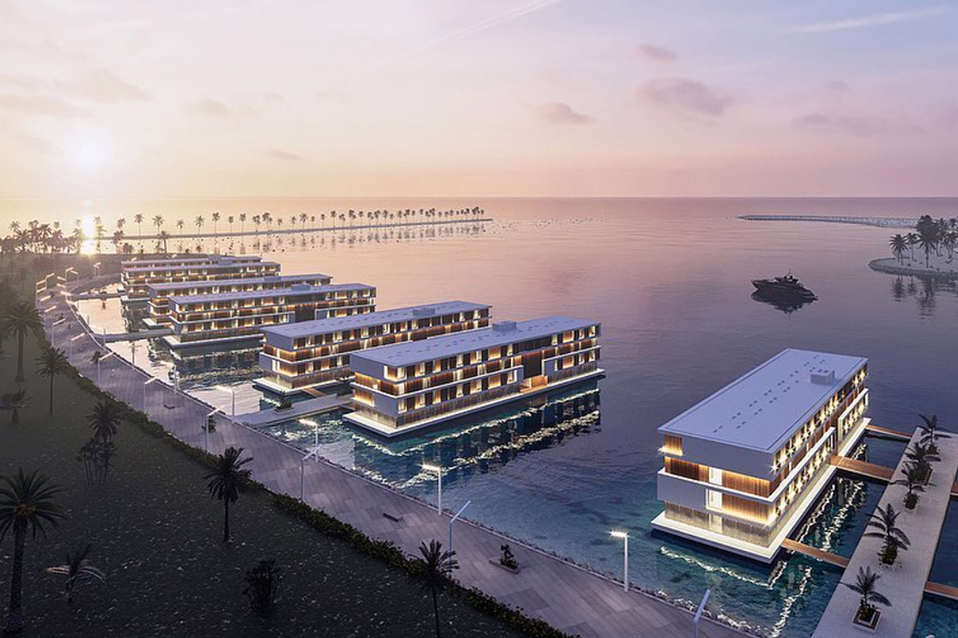 2022 FIFA World Cup Floating Hotels