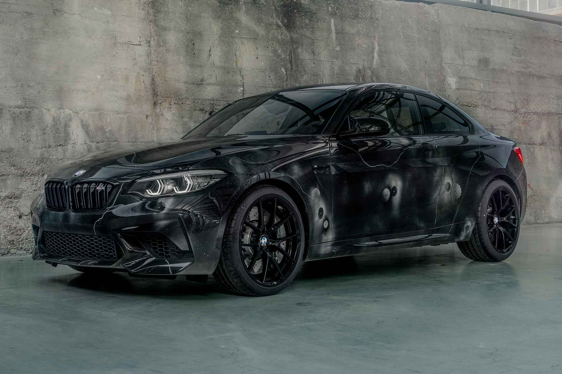 BMW x Futura 2000 M2 Competition Coupe