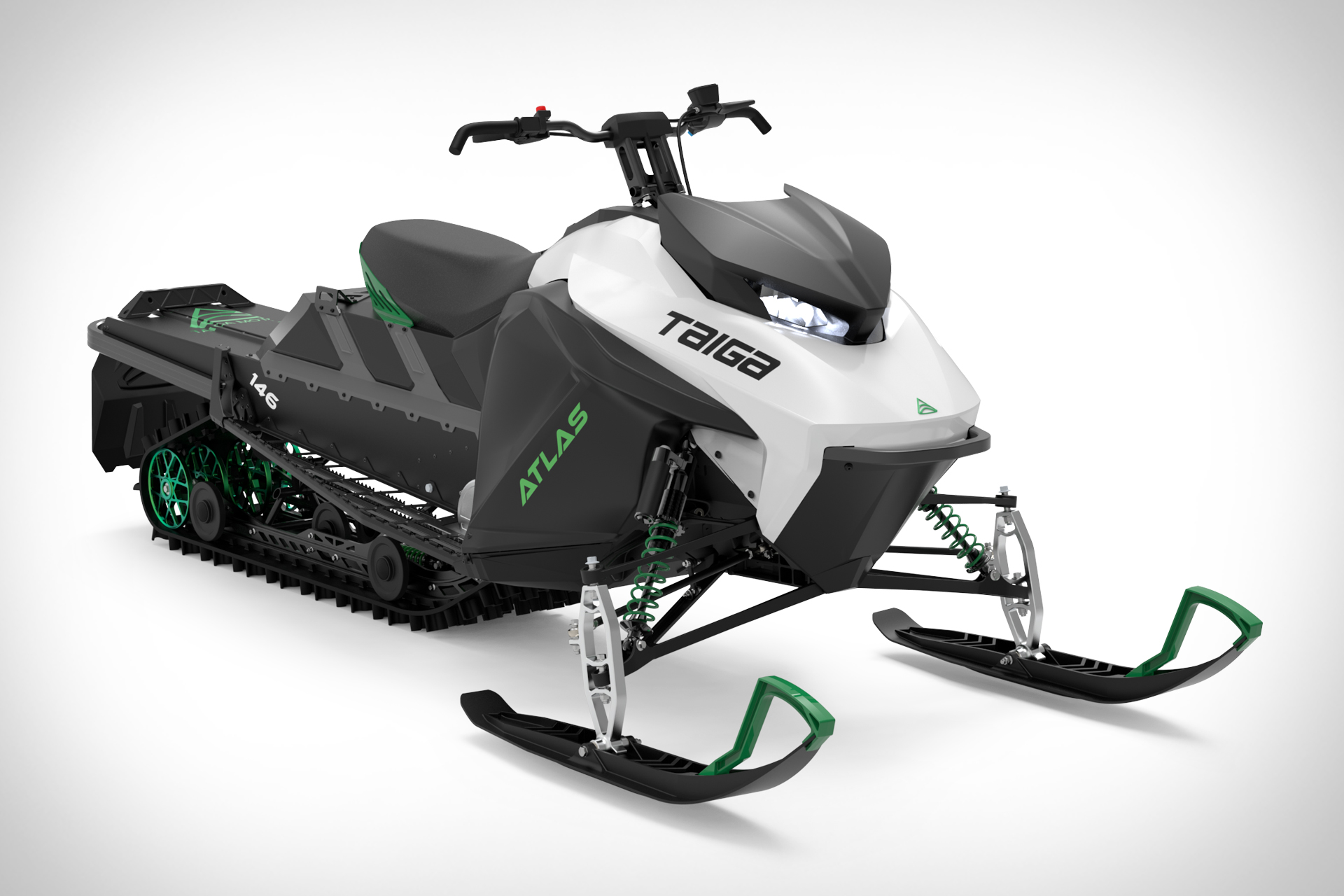 Taiga Electric Snowmobile
