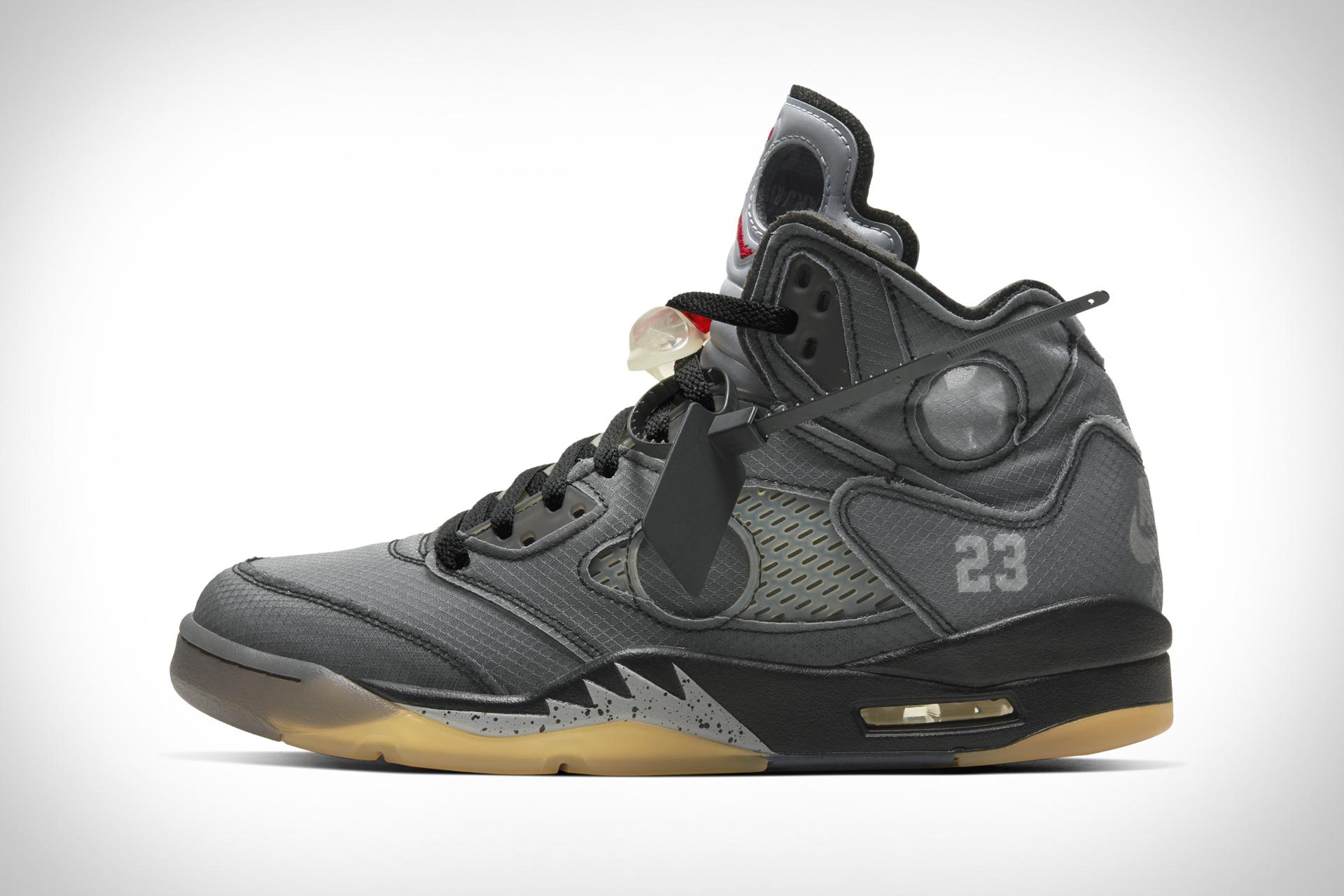 Nike x Virgil Abloh Air Jordan V Chicago Sneaker