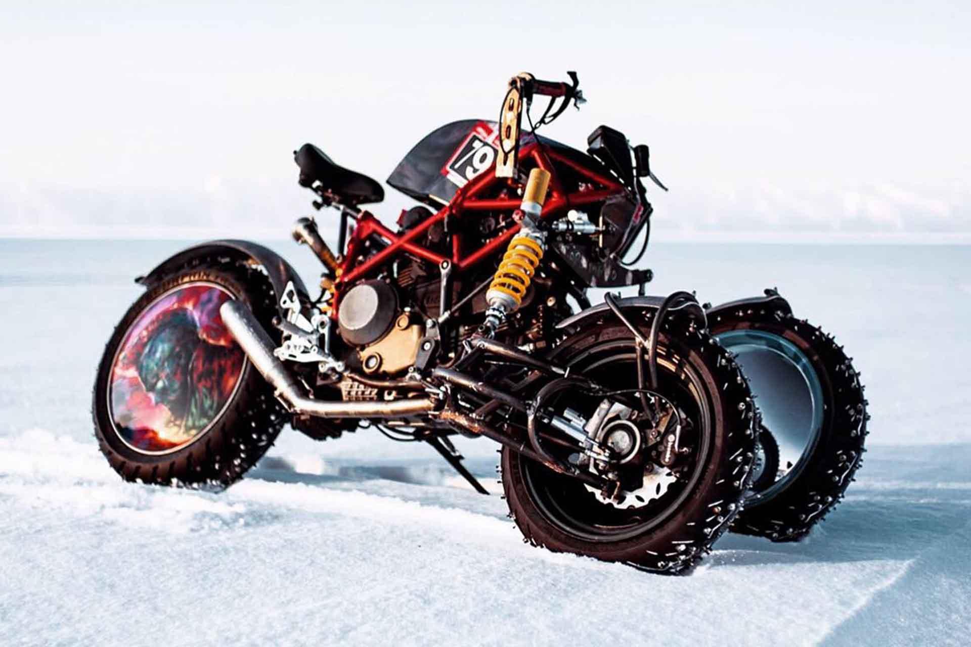 Balmutti Yondu Ducati Hypermotard Ice Racer