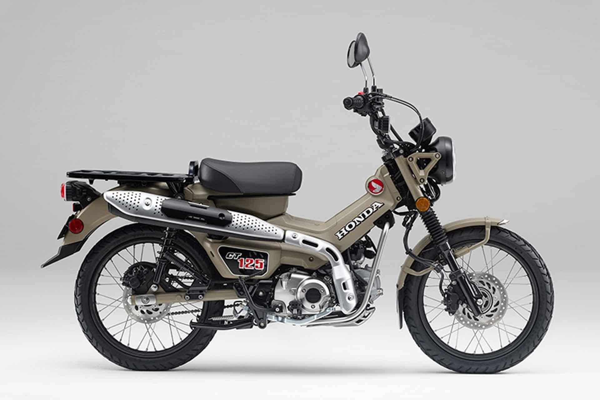 Ct125 ハンター カブ CT125 答えは、自然の中にある。 Honda