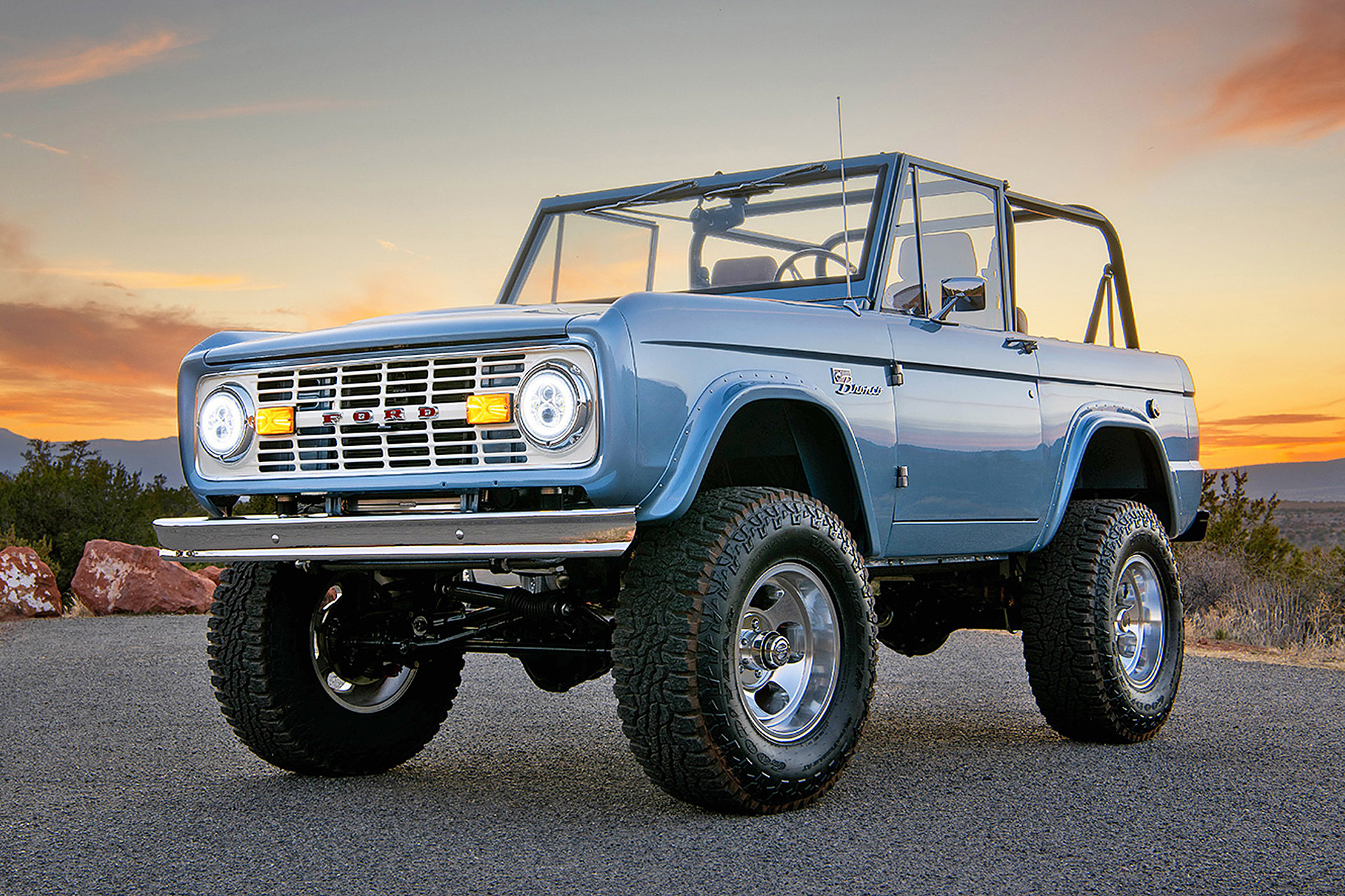 Electric Ford Bronco Uncrate