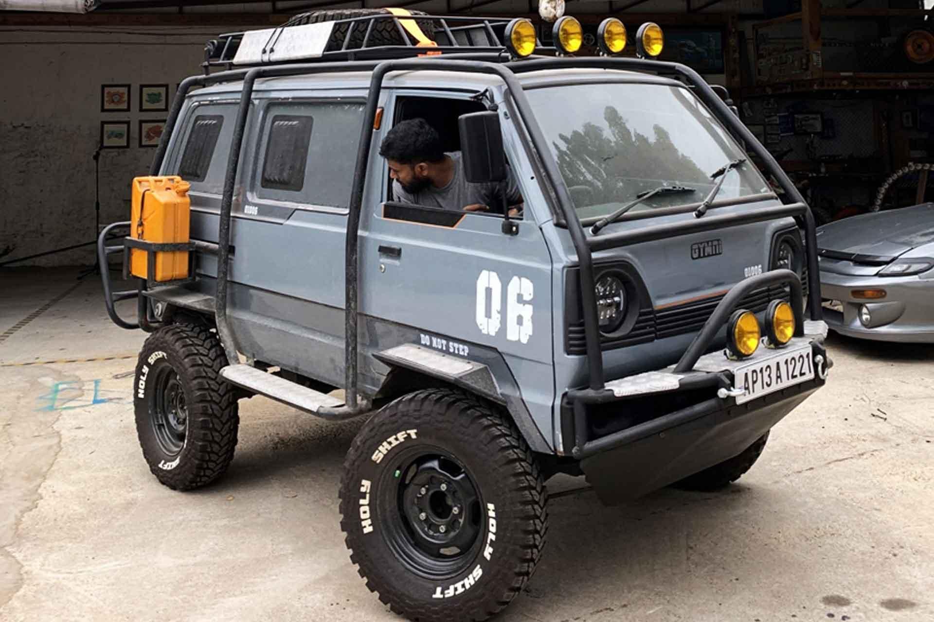 Holy Shift Suzuki Omni Battle Van