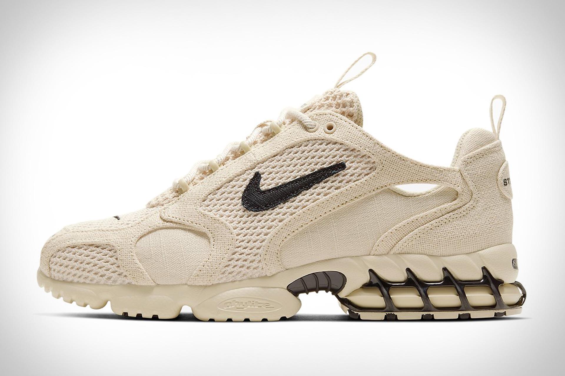 Nike x Stussy Air Zoom Spiridon Cage 2 Sneaker