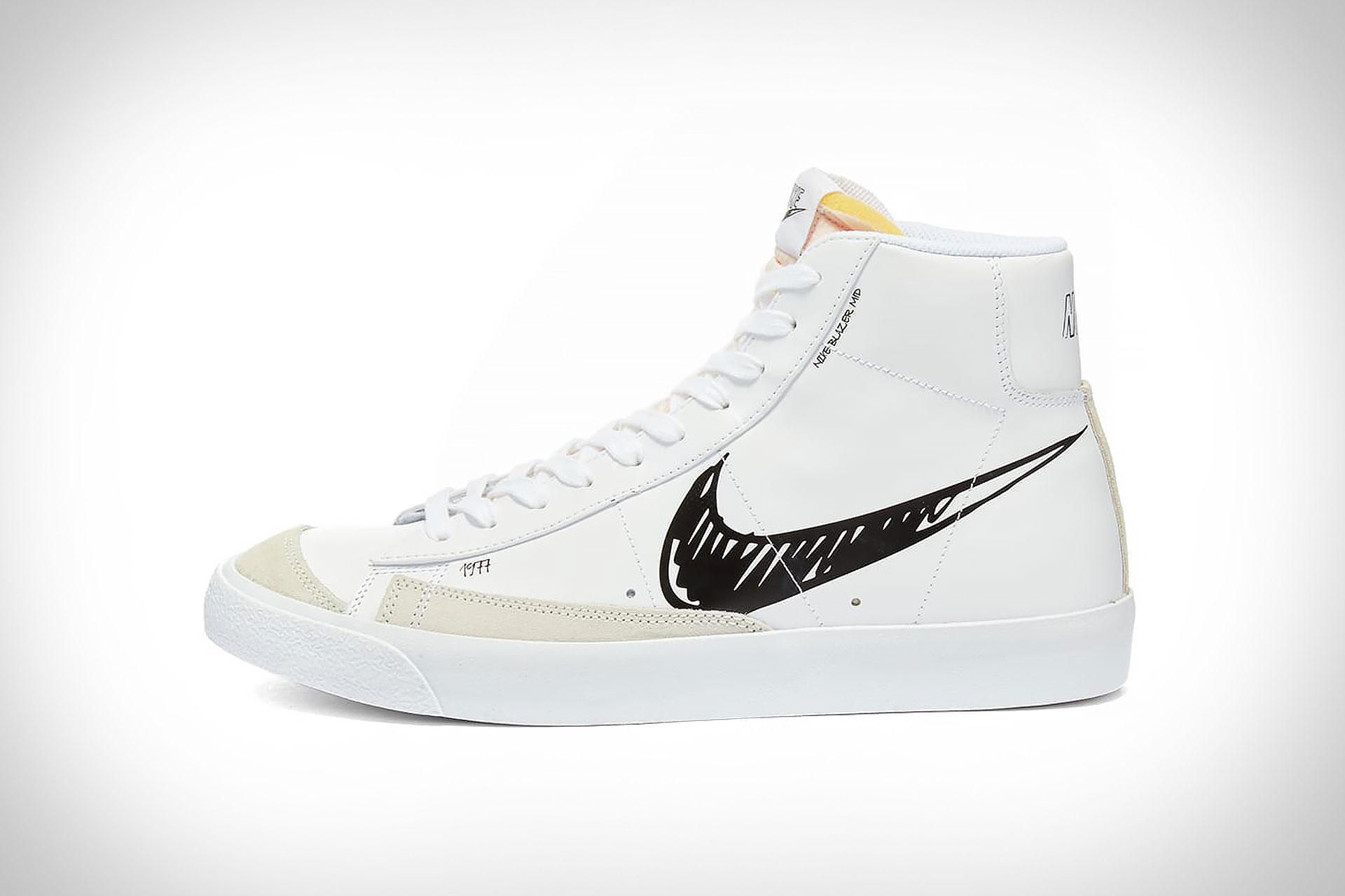 Sneaker Nike Blazer Mid 77 Scribble | Uncrate