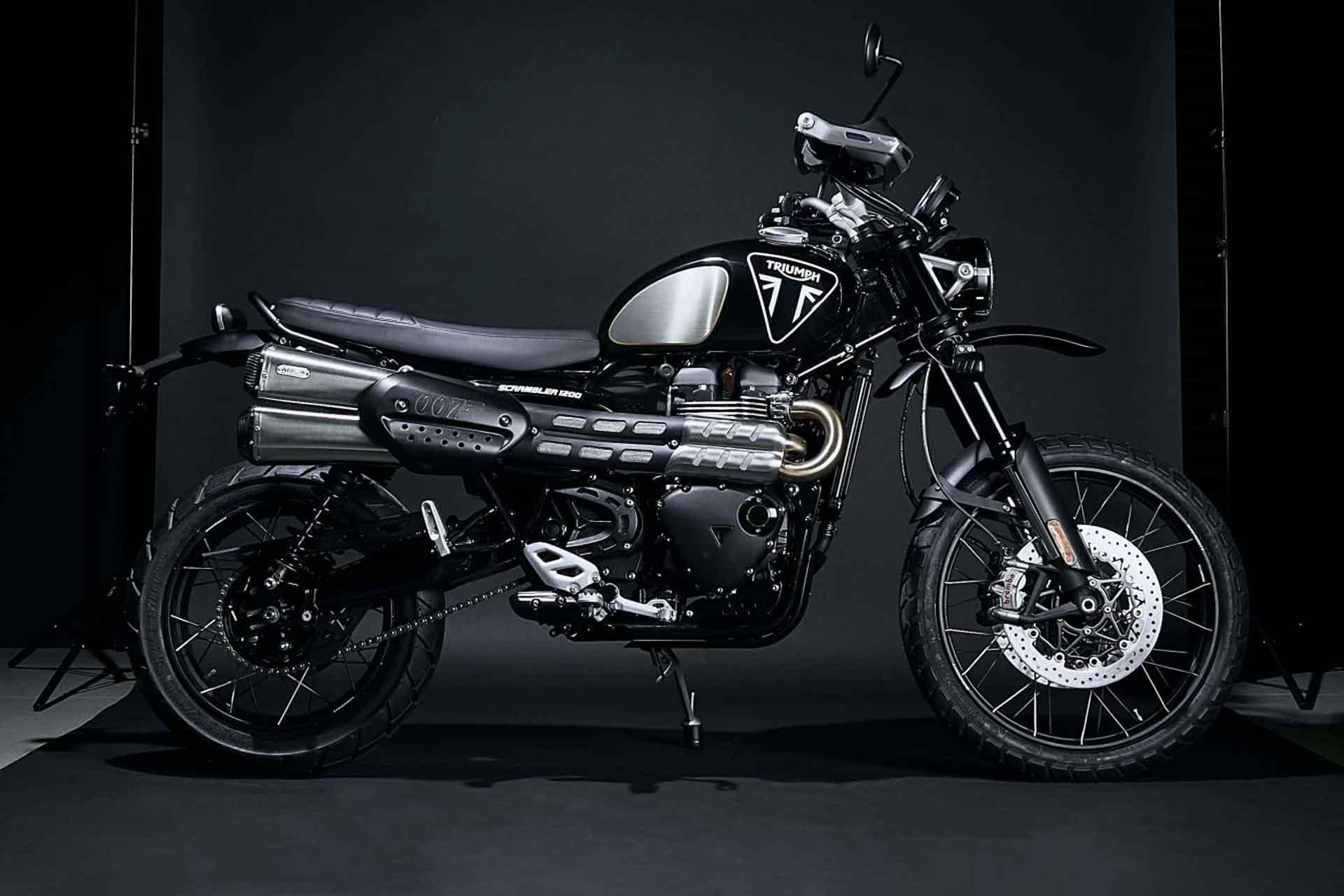 Triumph Scrambler 1200 Bond Edition Motorcycle