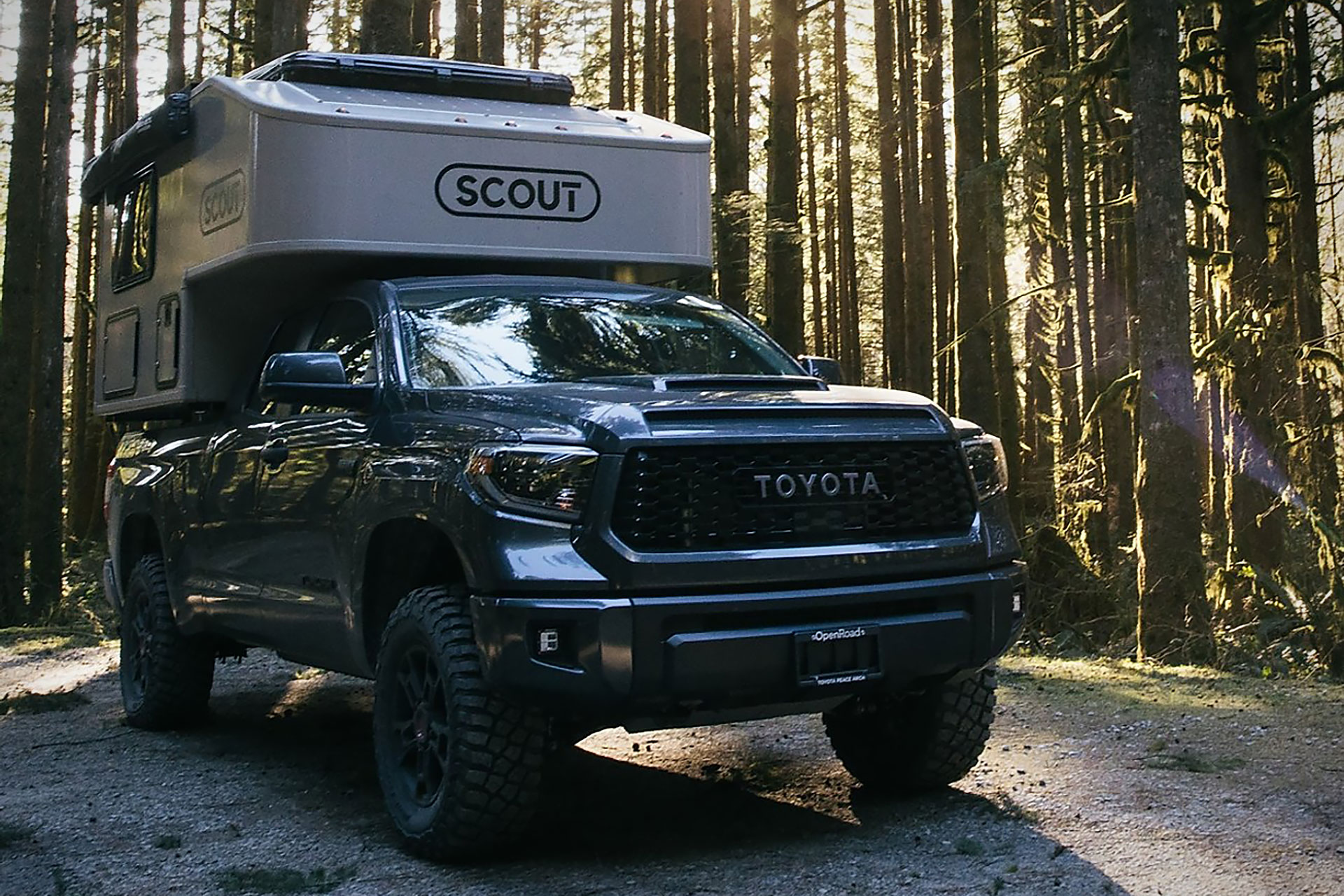 Scout Olympic Truck Camper
