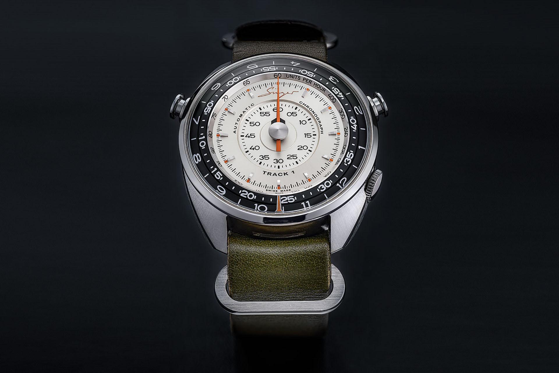 Singer Reimagined Track 1 Prototype Watch