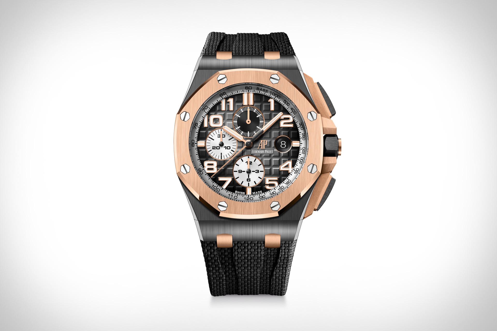 Audemars Piguet Black Ceramic Royal Oak Offshore Watch