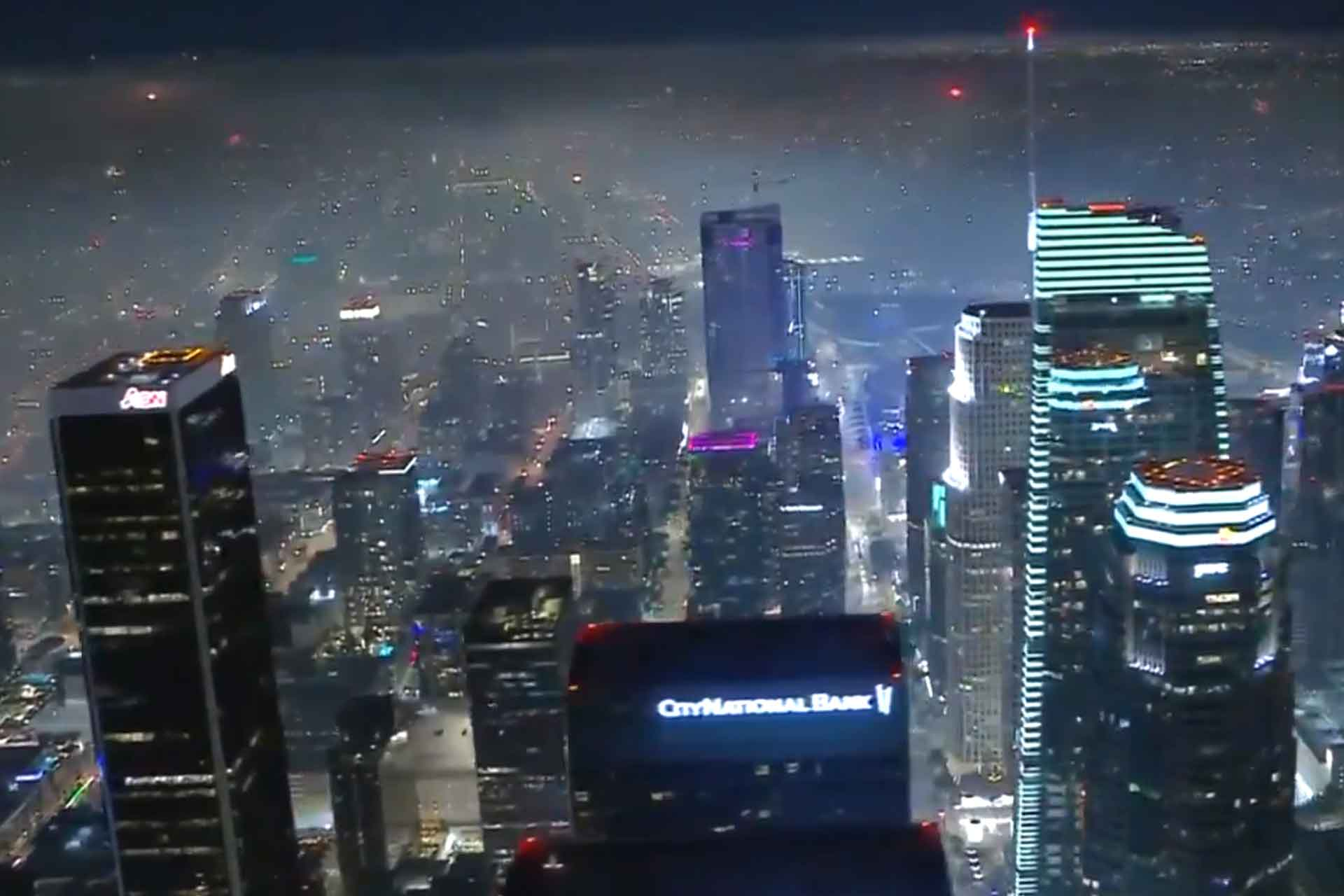 Los Angeles Goes Full Blade Runner On July 4th