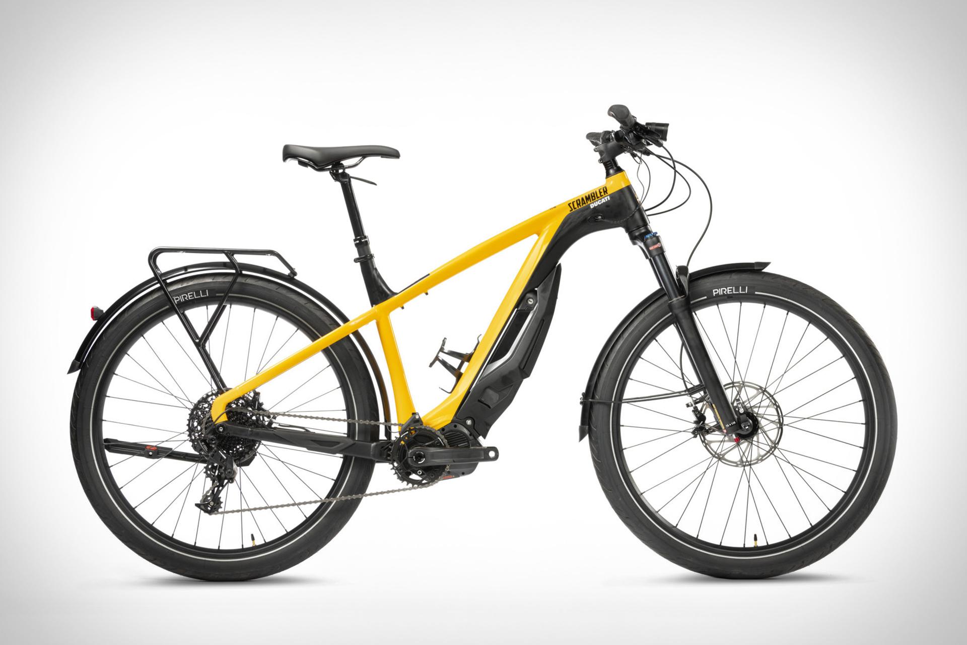 Ducati e-Scrambler Bicycle
