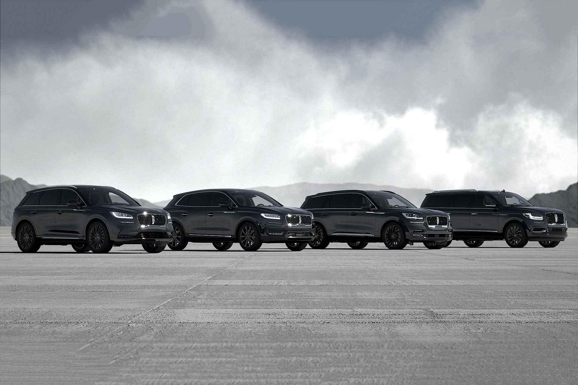 Lincoln Monochromatic SUVs
