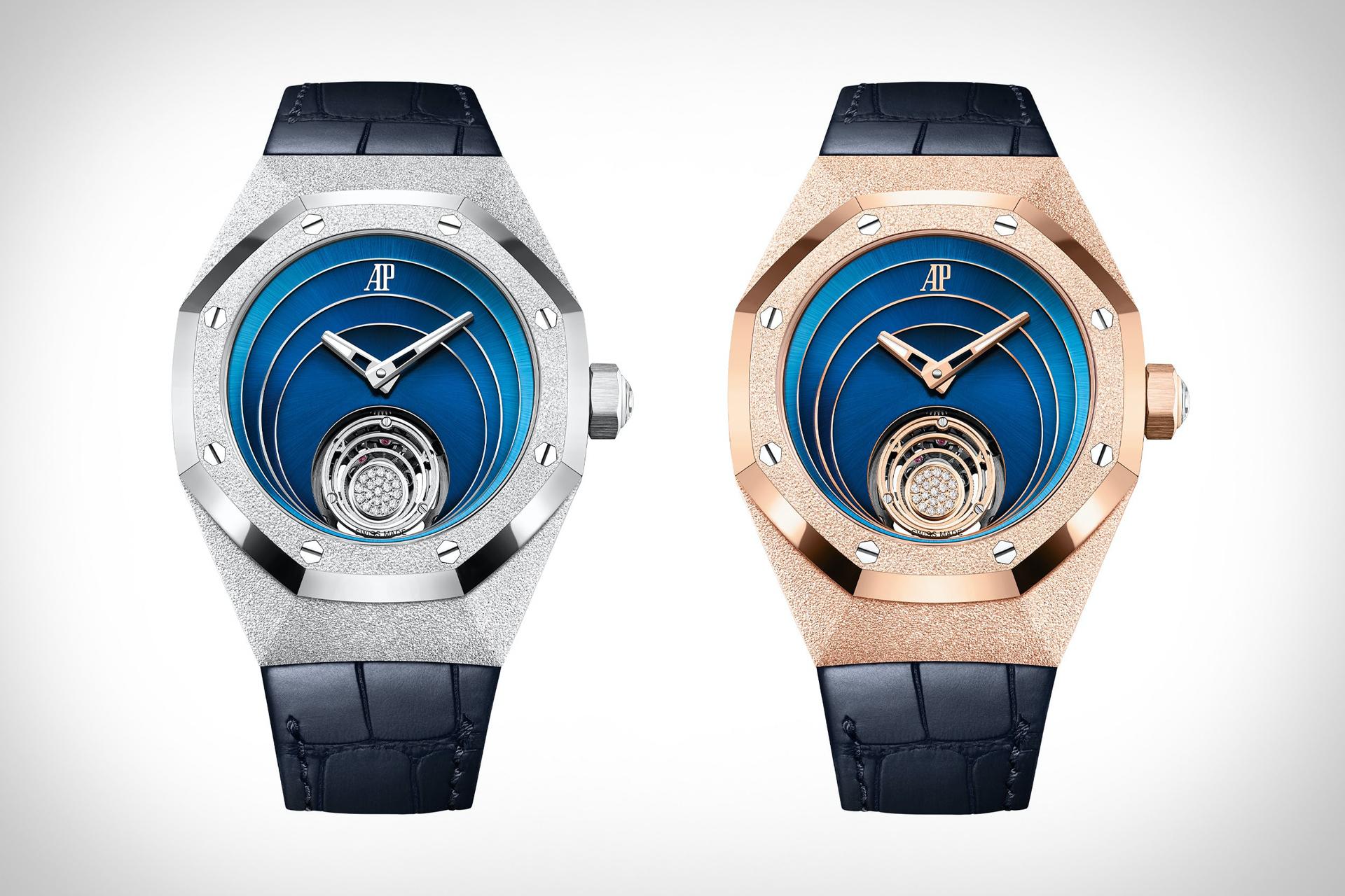 Audemars Piguet Royal Oak Concept Frosted Gold Flying Tourbillon Watch