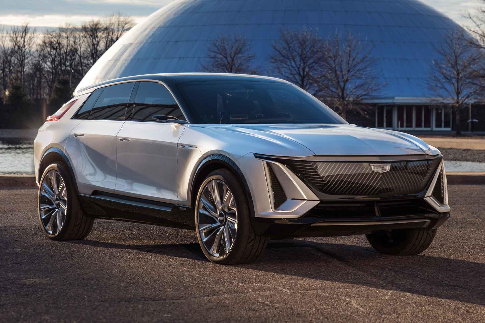 Cadillac Lyriq Electric Concept SUV