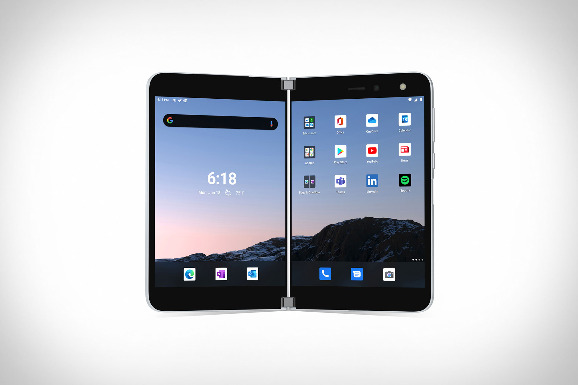 Microsoft Surface Duo Smartphone