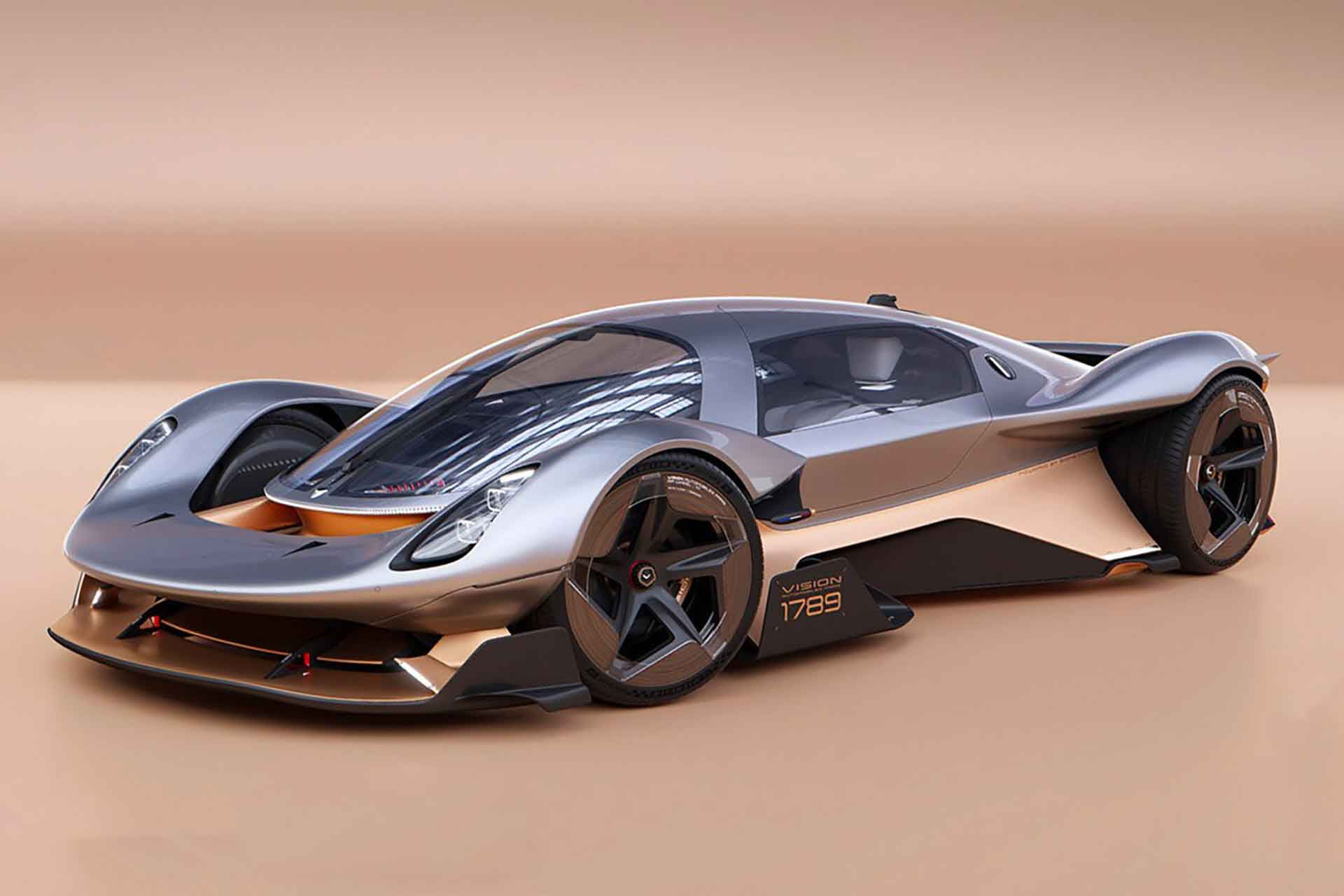 Vision 1789 Sports Car | Uncrate
