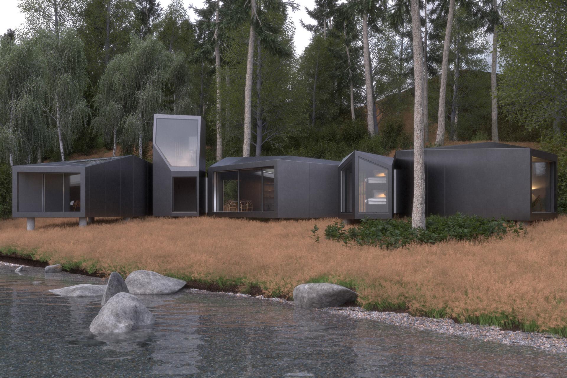 Tiny Homes, Prefab, Modular & Unusual Homes cover image