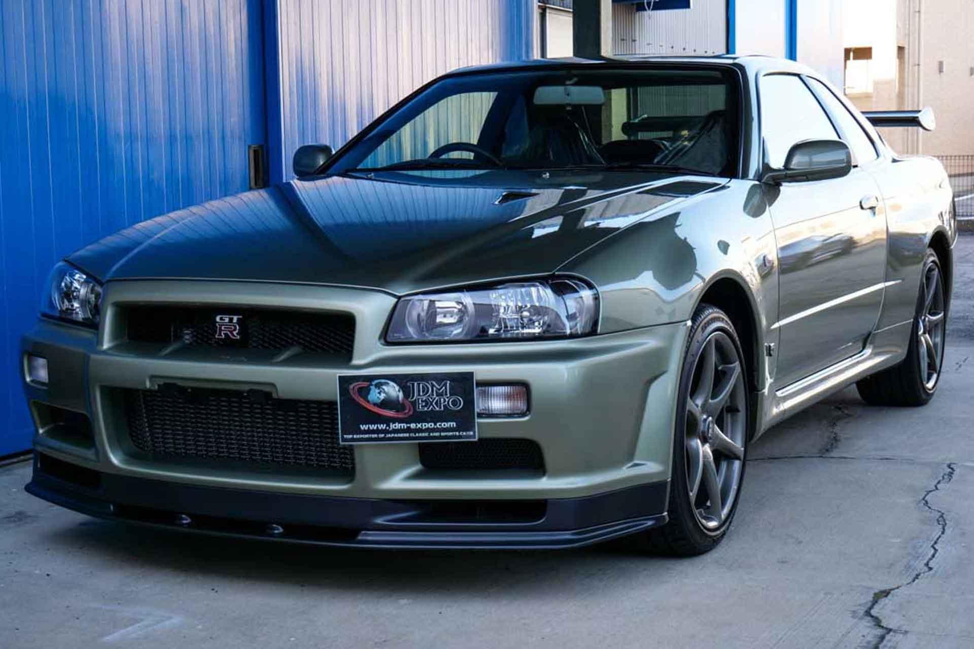 2002 Nissan Skyline GT-R V Spec II Nur Coupe