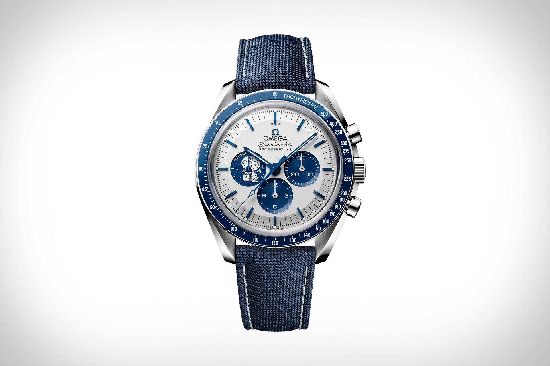 Omega Speedmaster Silver Snoopy Award Watch