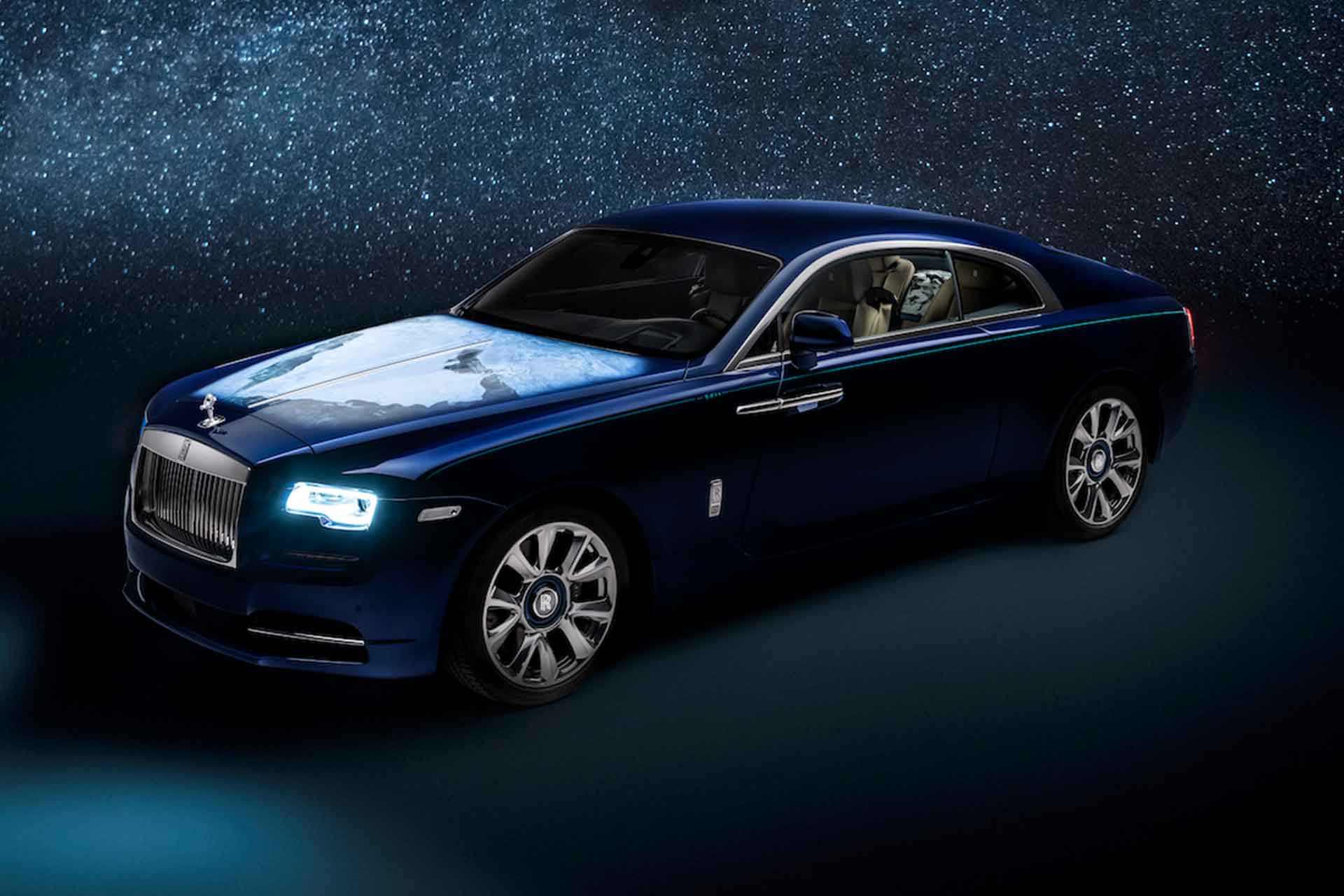 Rolls-Royce Wraith 'Inspired By Earth' Coupe