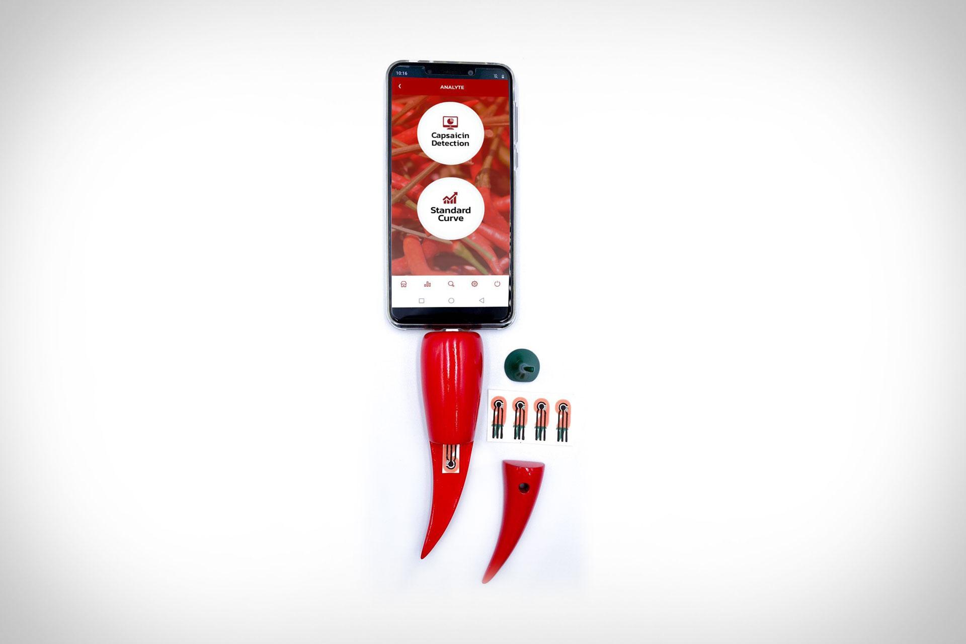 Chili Pepper Capsaicin Detector