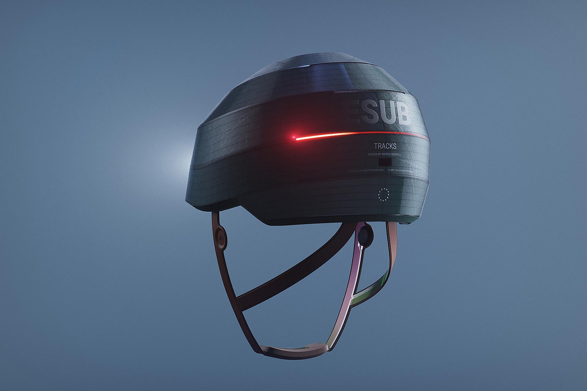Werteloberfell ESUB Tracks Helmet