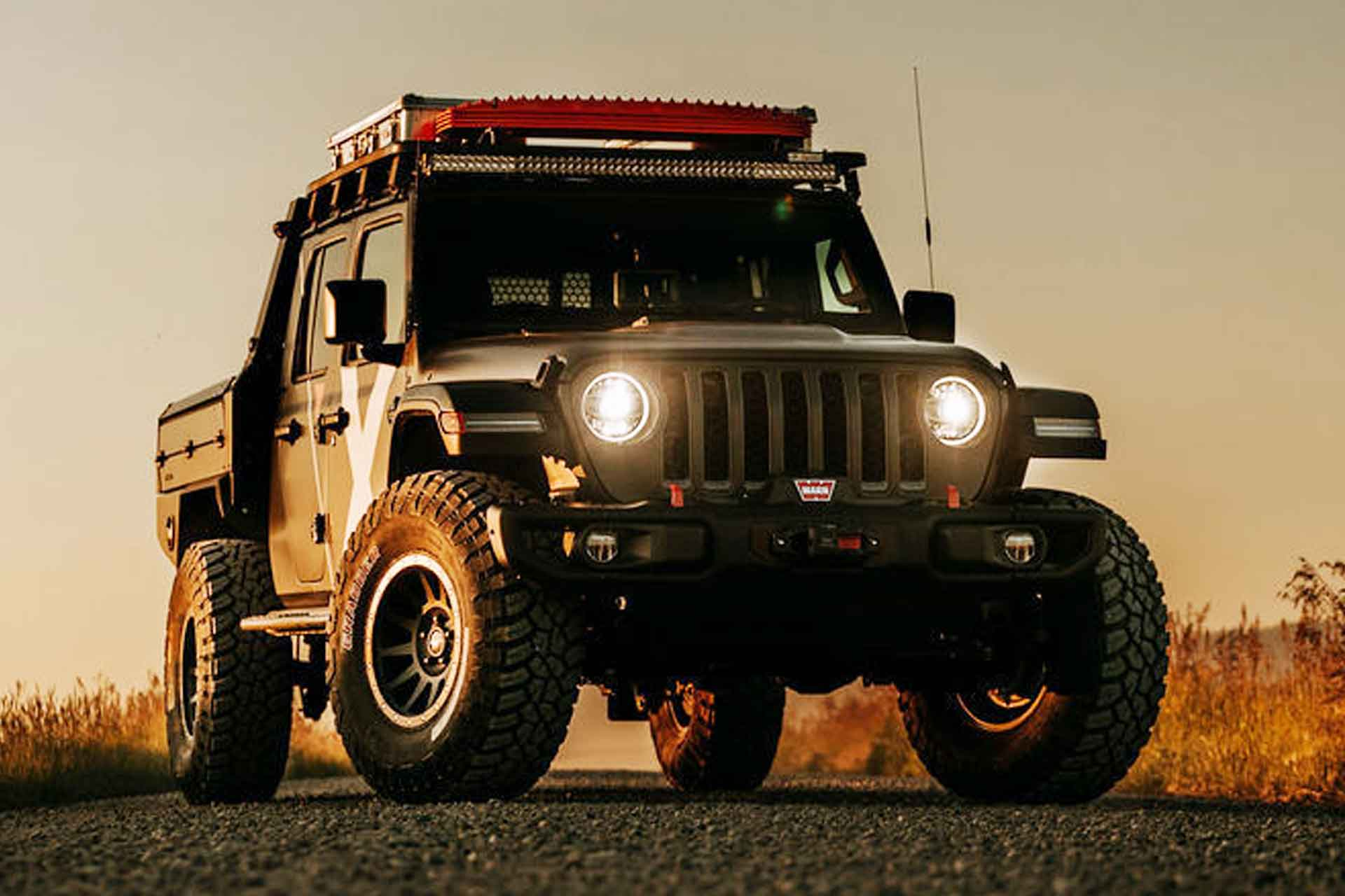 Expedition Overland Odin Jeep Gladiator Truck Uncrate