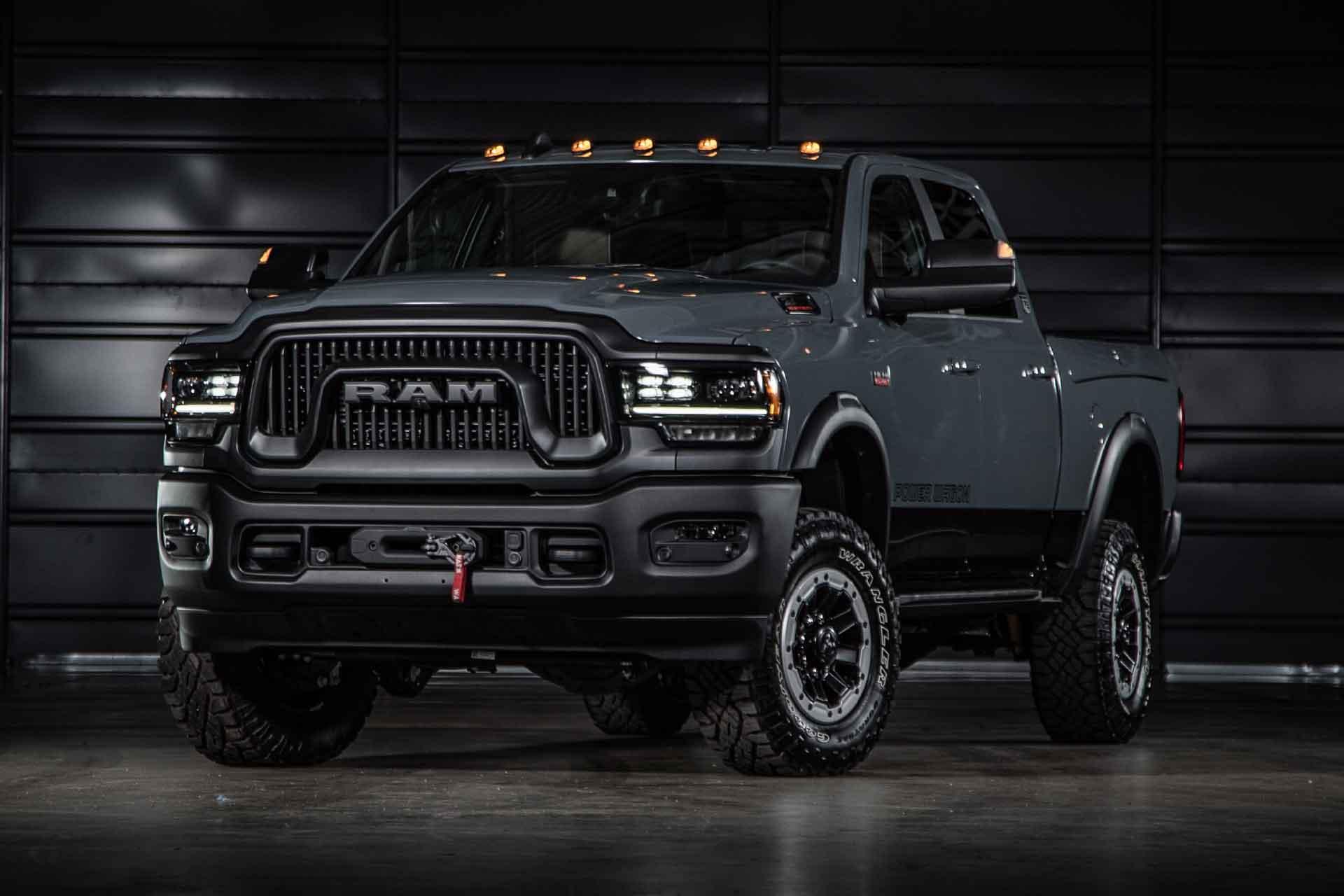 2021 Ram Power Wagon 75th Anniversary Truck Uncrate