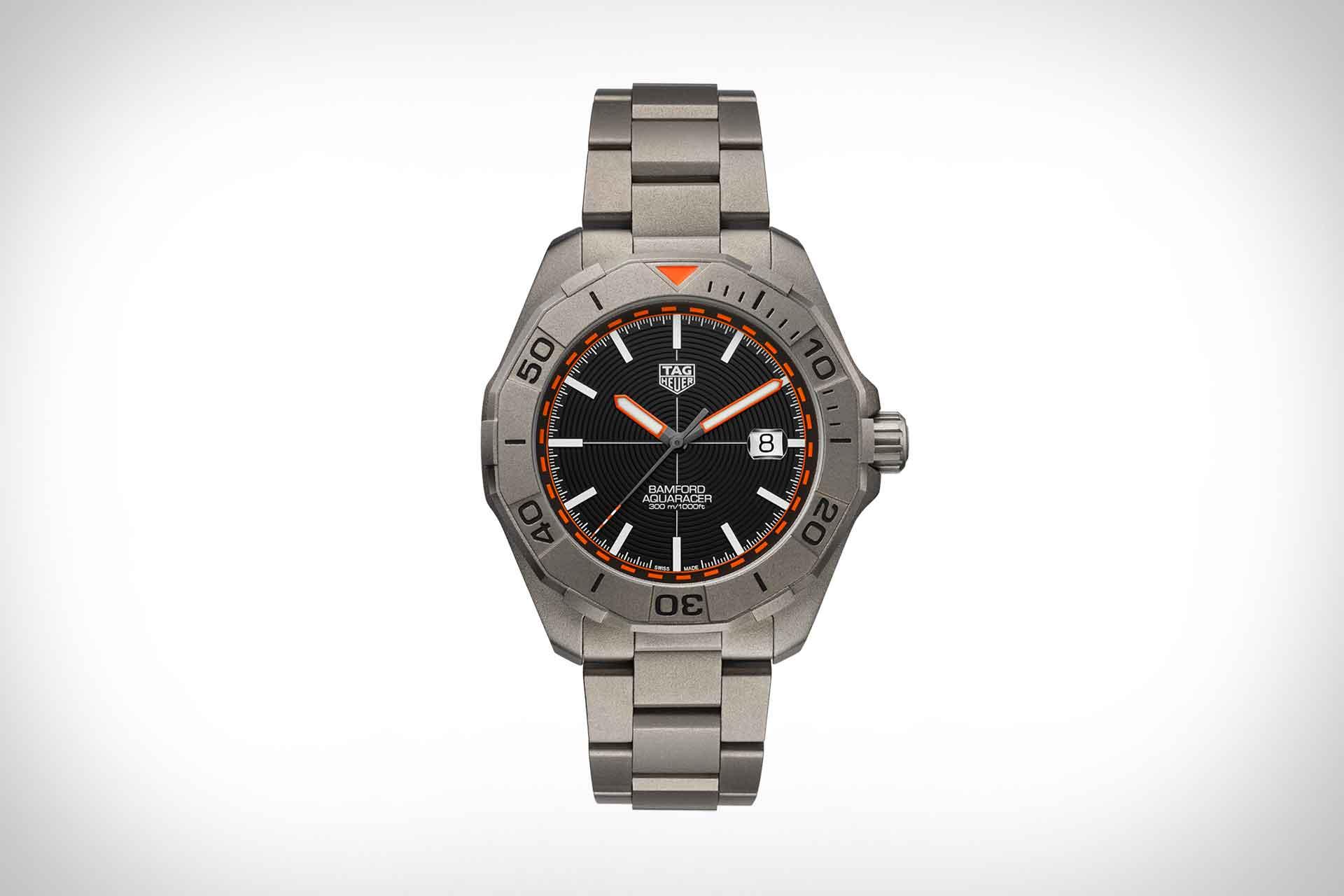 Tag Heuer x Bamford Aquaracer Watch